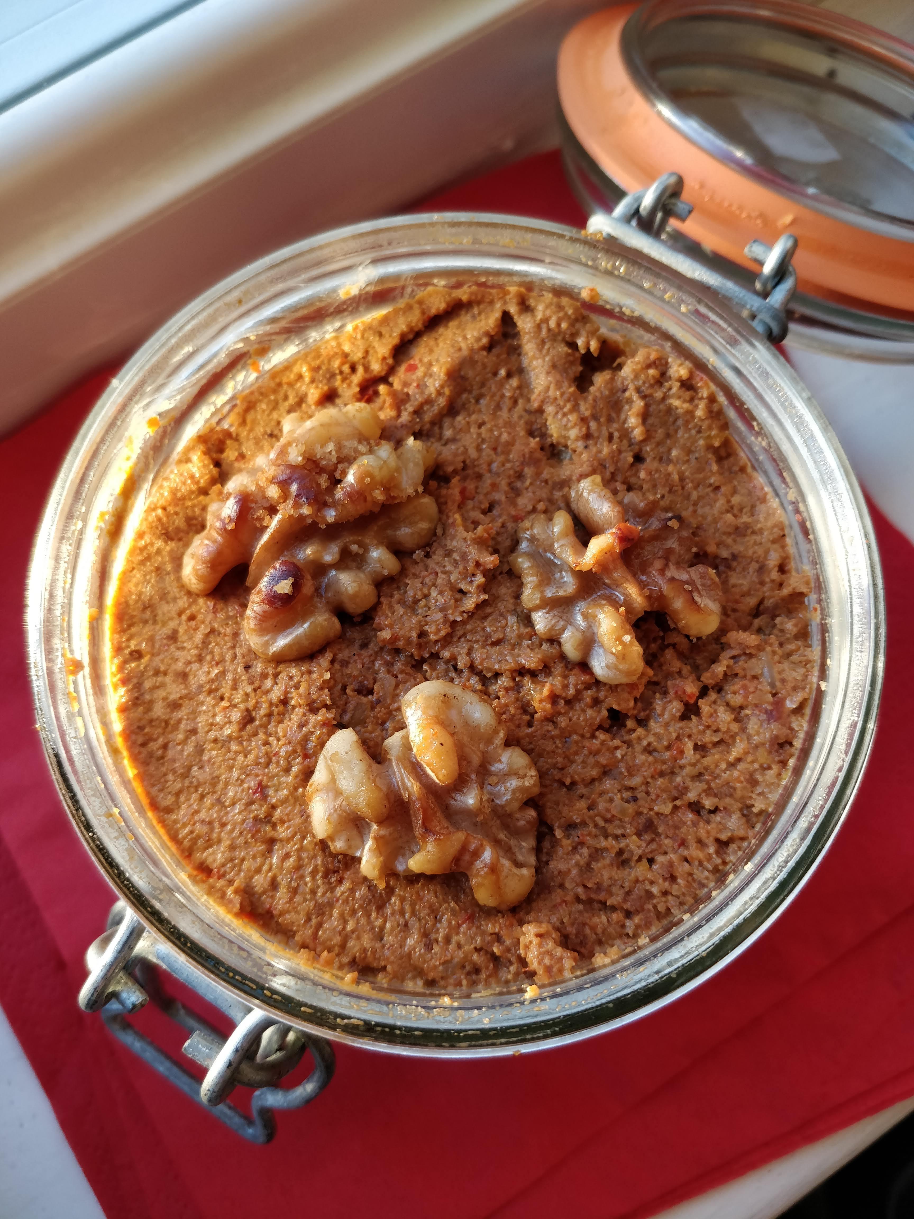 Muhammara (Roasted Pepper & Walnut Spread) Clara Morice