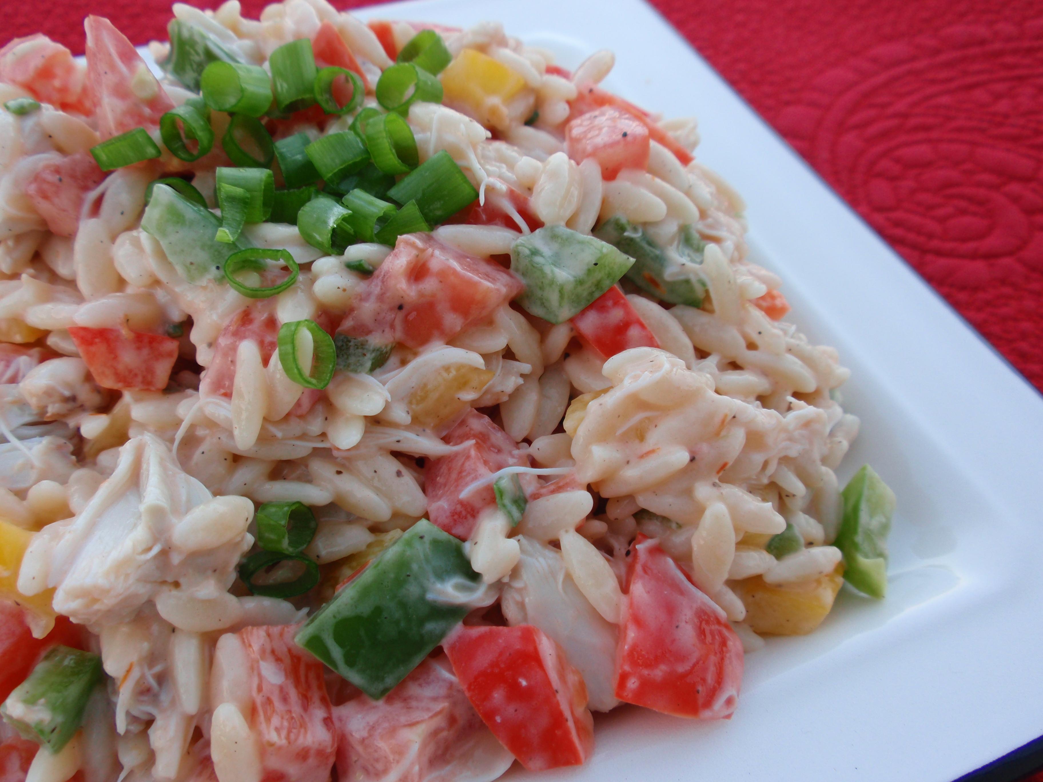 Crab and Orzo Salad