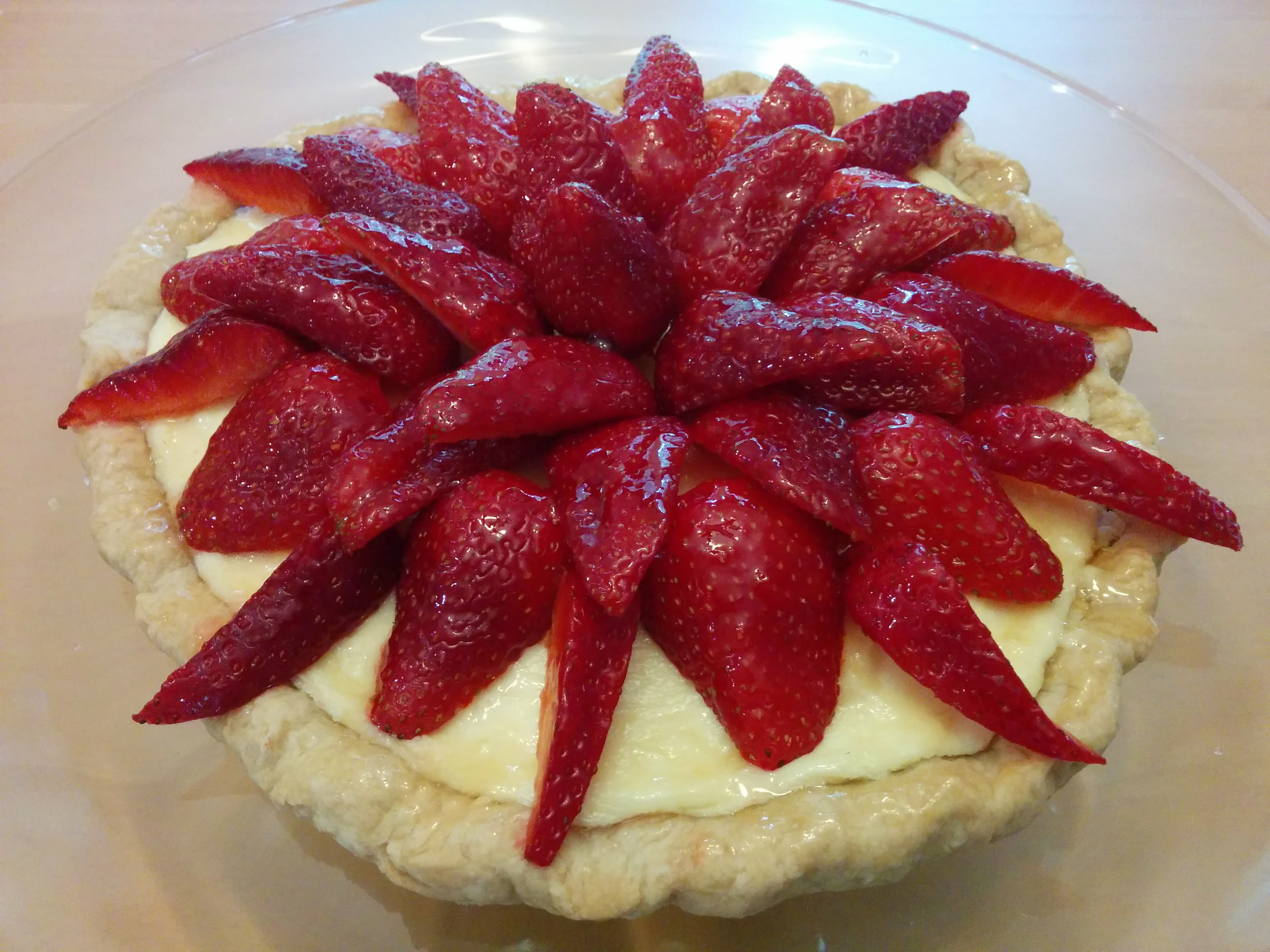 Fresh Strawberry Tart Ila