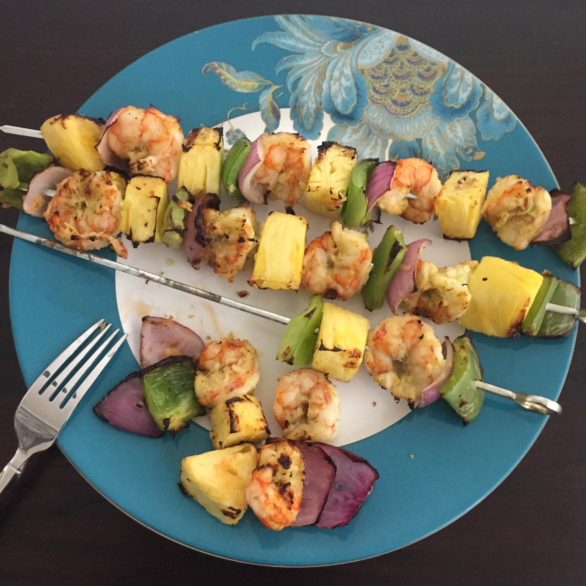 Coconut Shrimp Kabobs jeff