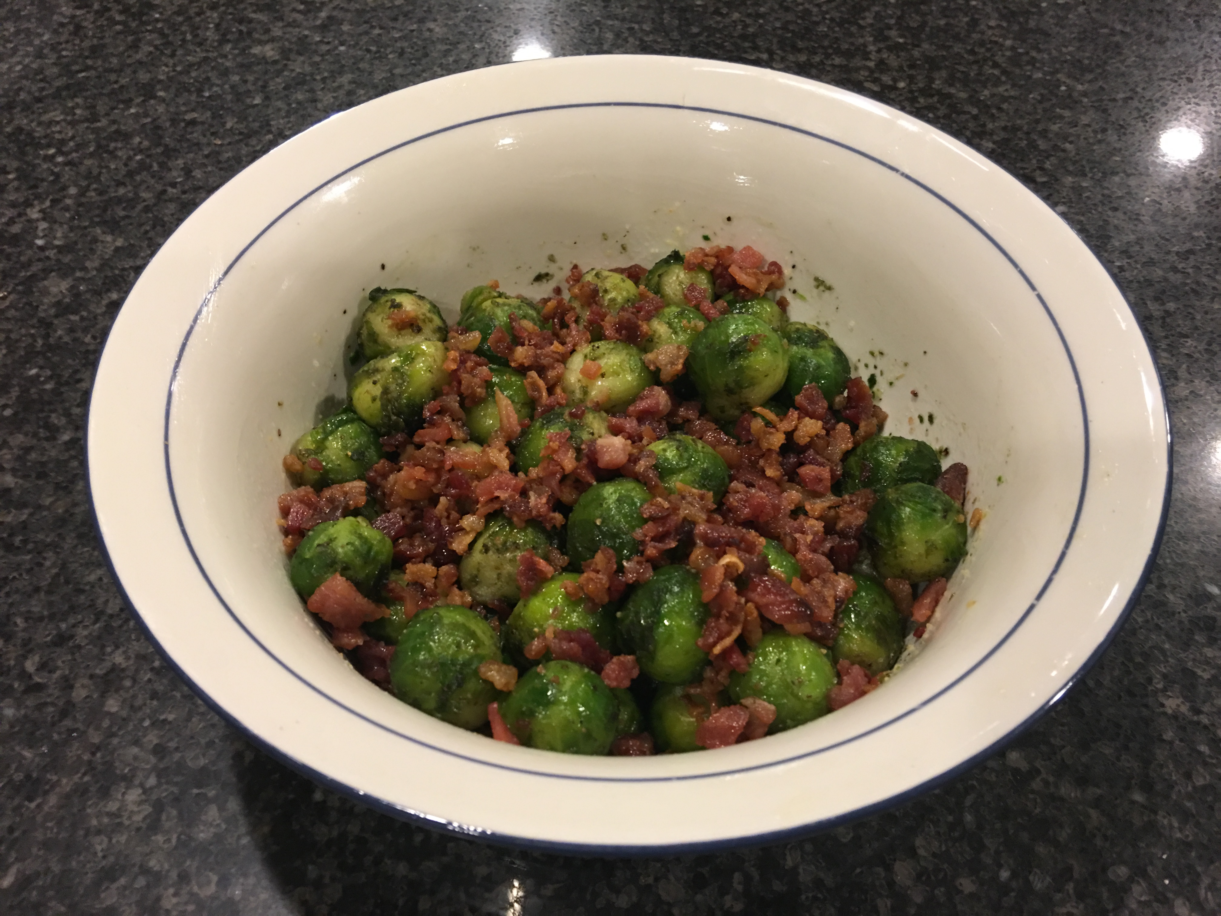 Grilled Brussels Sprouts with Bacon GergMeister