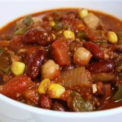 The Best Vegetarian Chili in the World TTV78