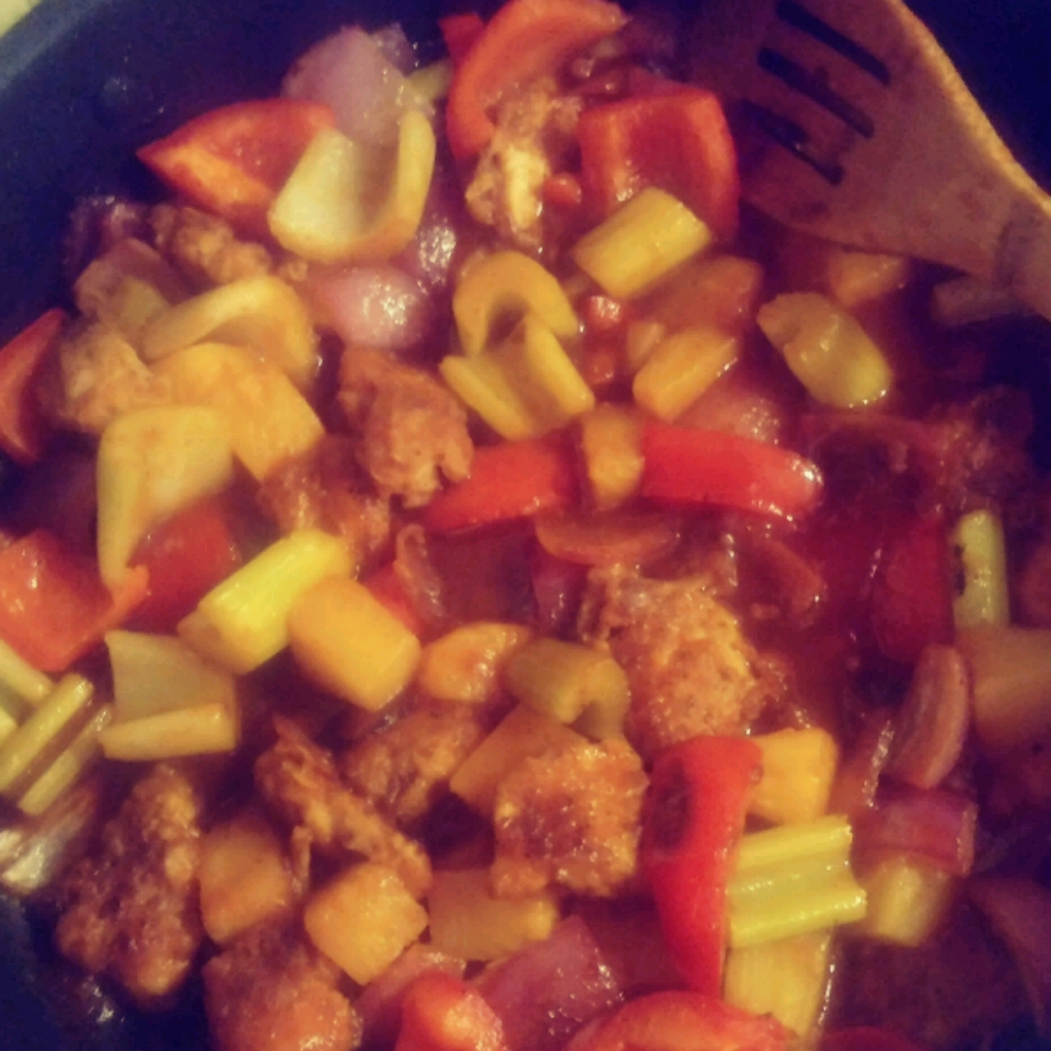 Easy Sweet and Sour Chicken Benjamin Kincaid