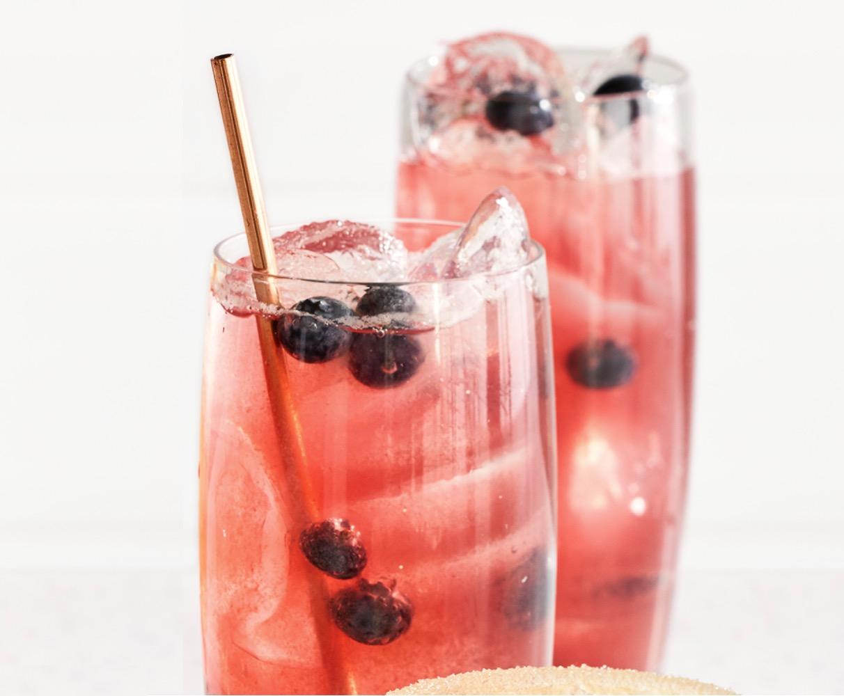 Blueberry-Bourbon Shrub