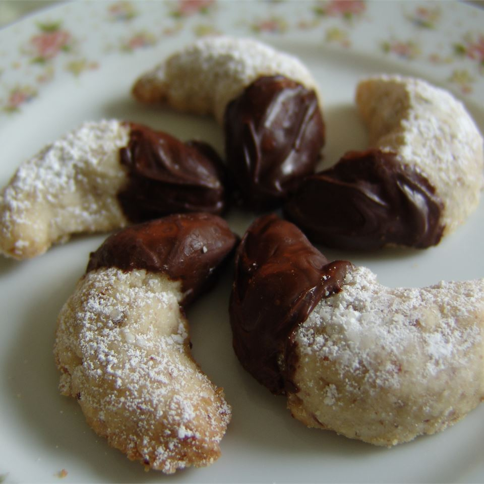 Viennese Crescent Holiday Cookies Debby Hawkins