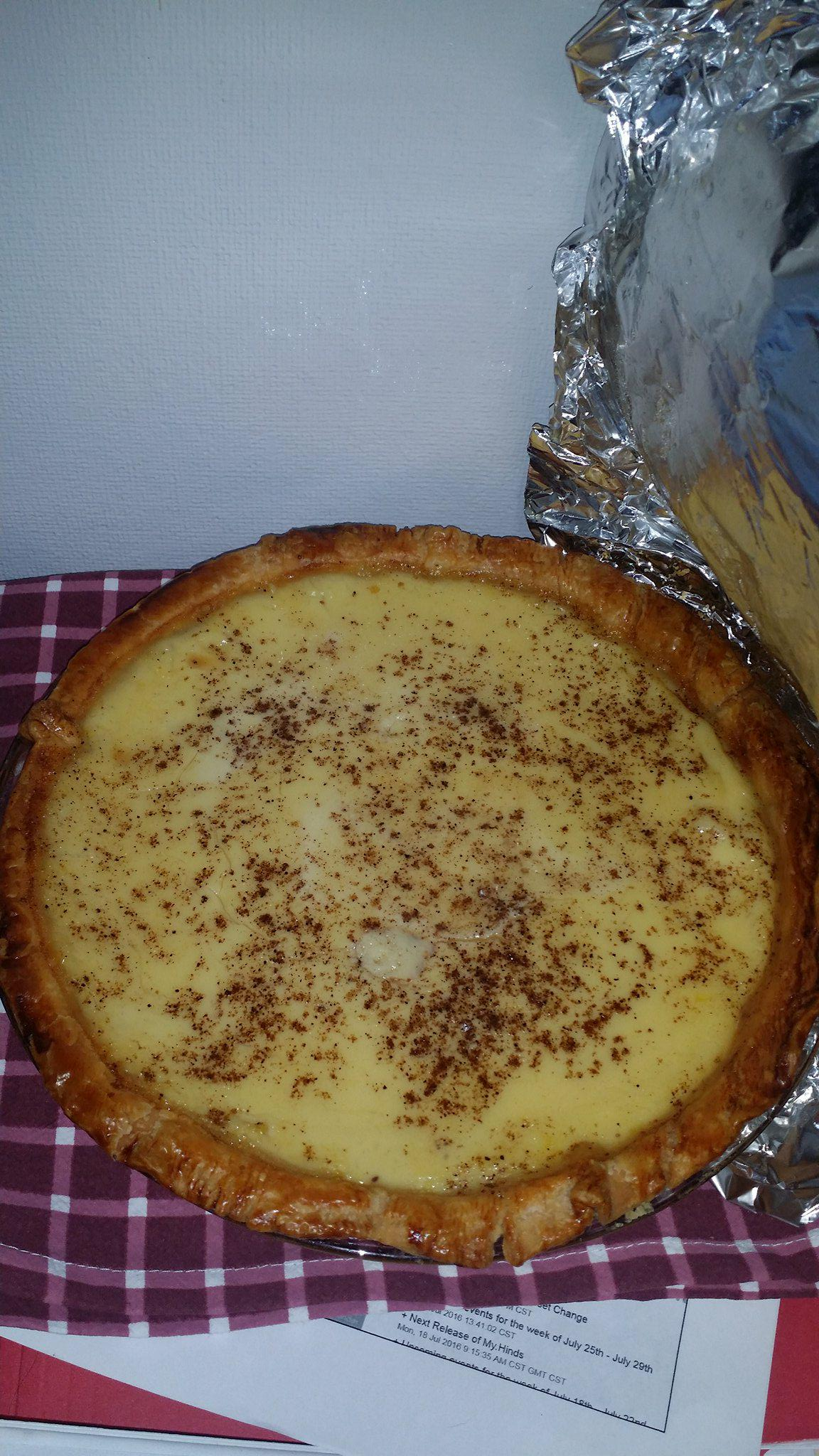 Egg Custard Pie II Kelly Lawless