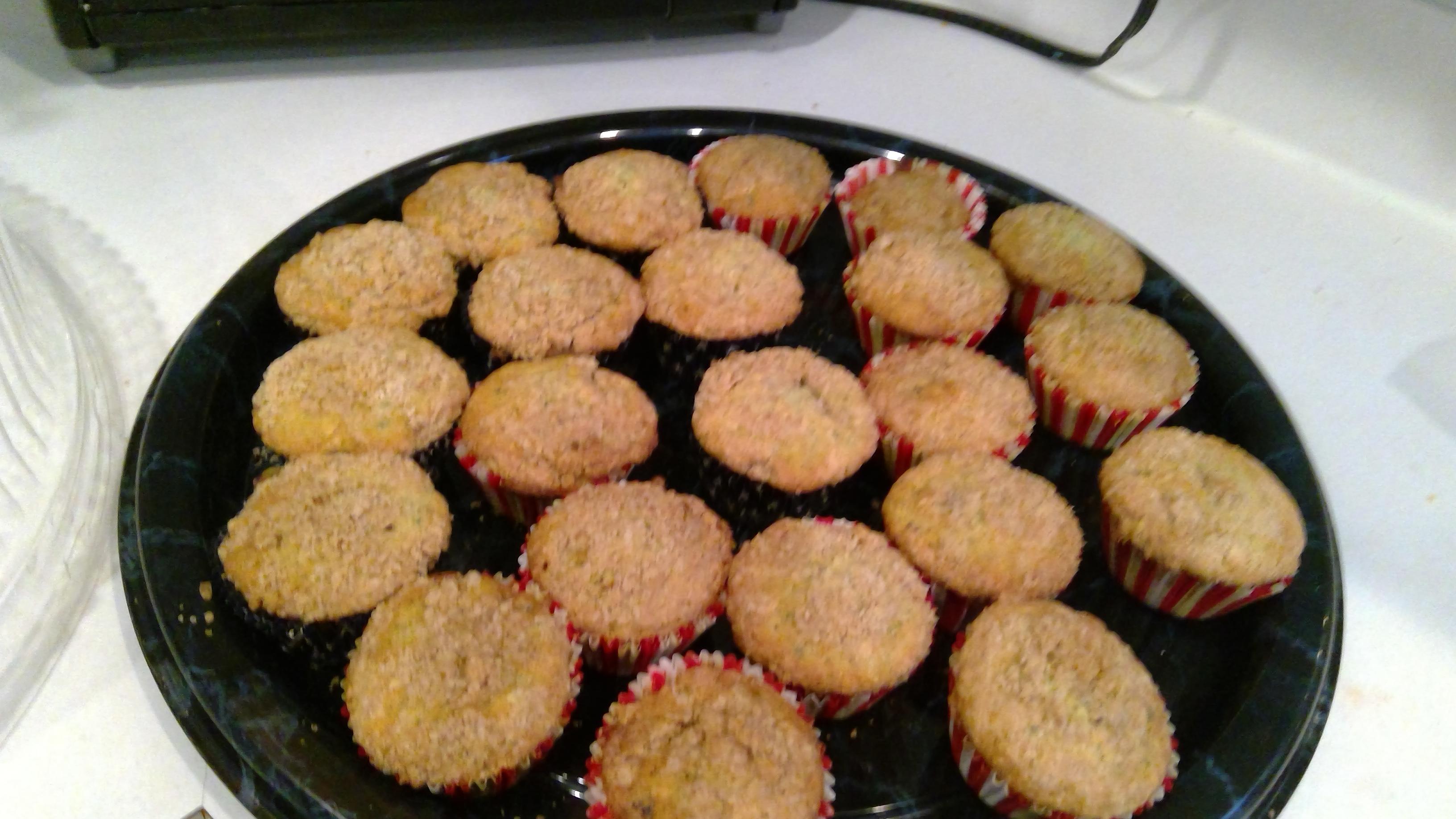 Farm Fresh Zucchini Cranberry Nut Muffins Mary Ellen S