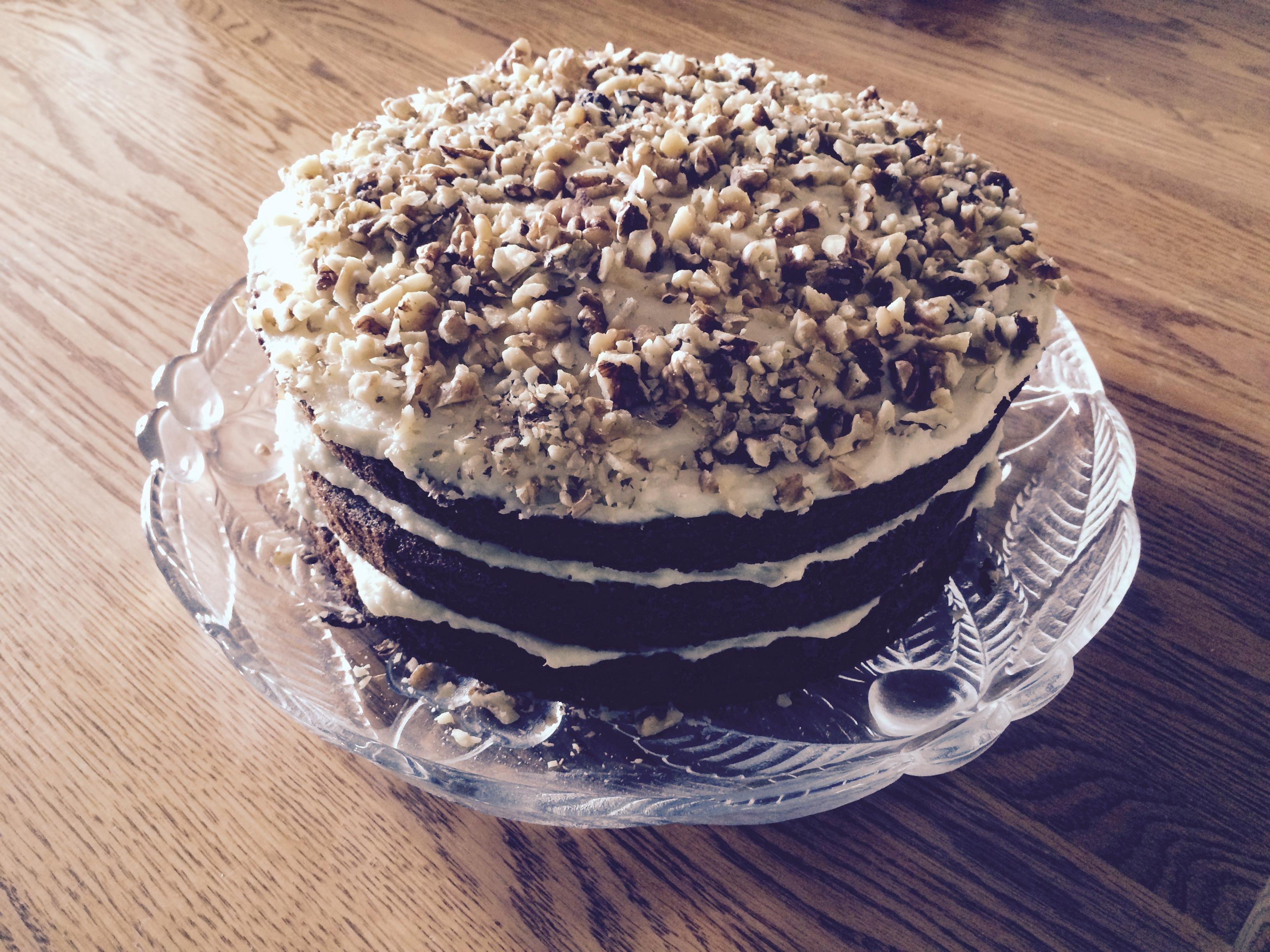 Sam's Famous Carrot Cake Finnishmom