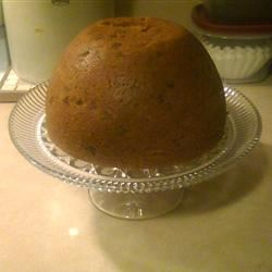Steamed Christmas Pudding Charlotte McAnally Cannon