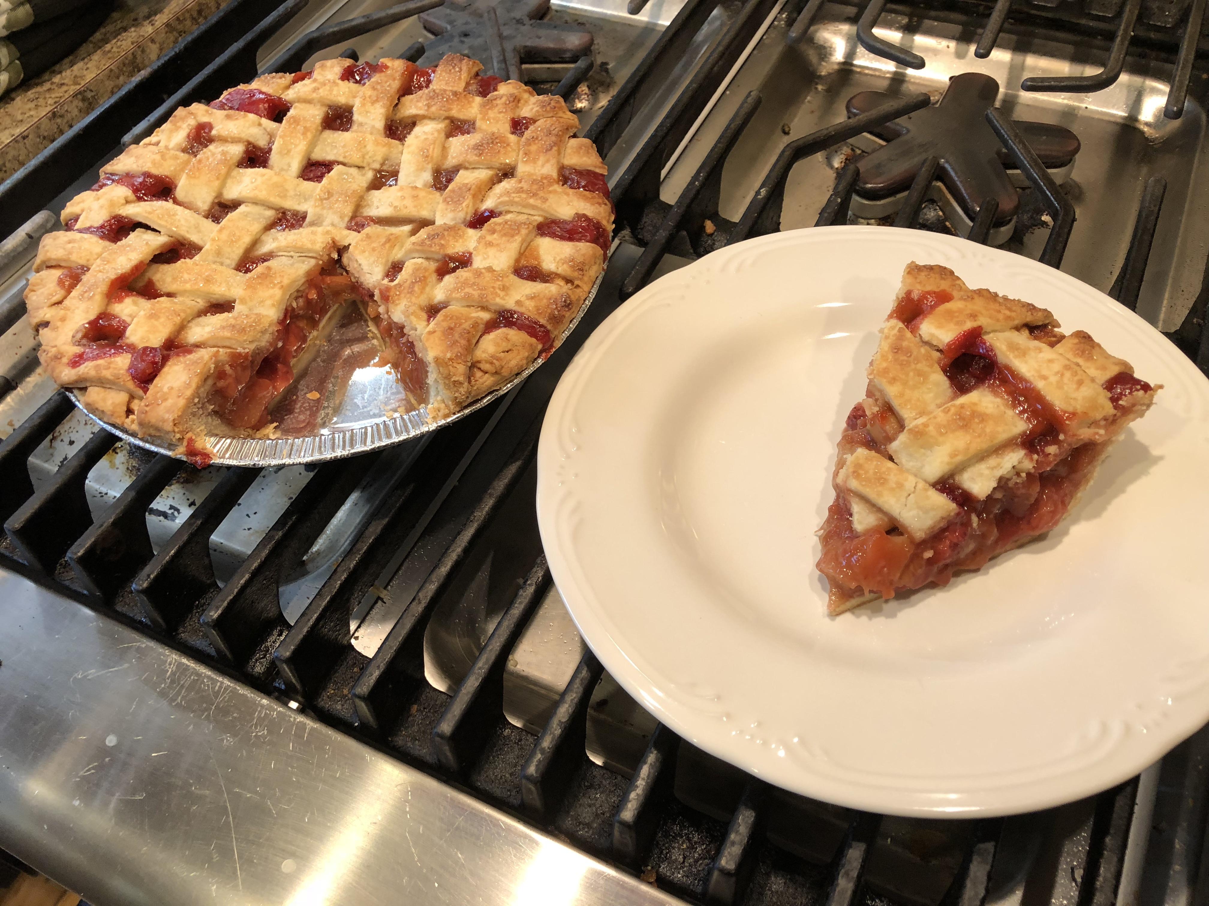 My Own Strawberry Rhubarb Pie lf16