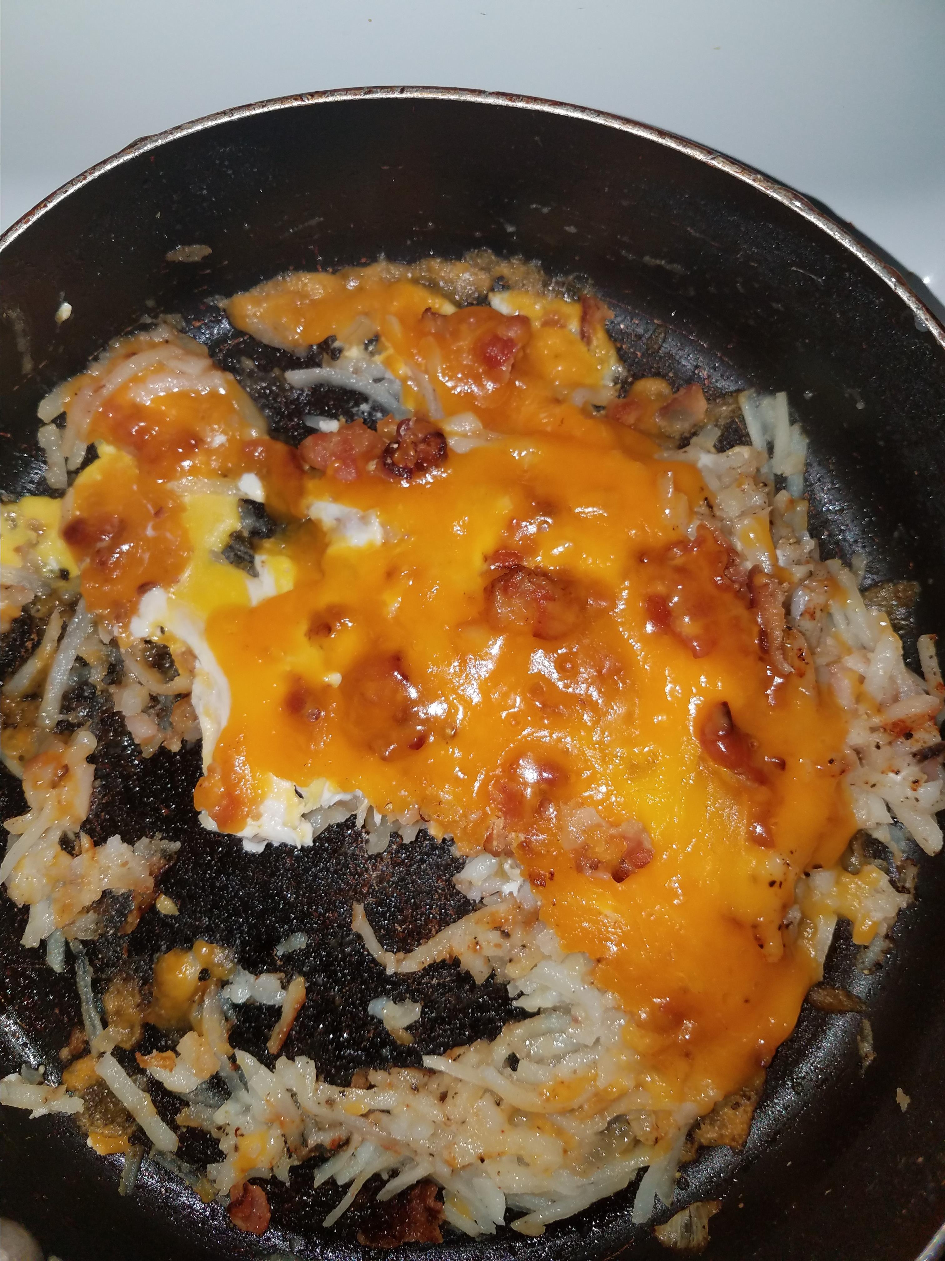 Loaded Breakfast Skillet