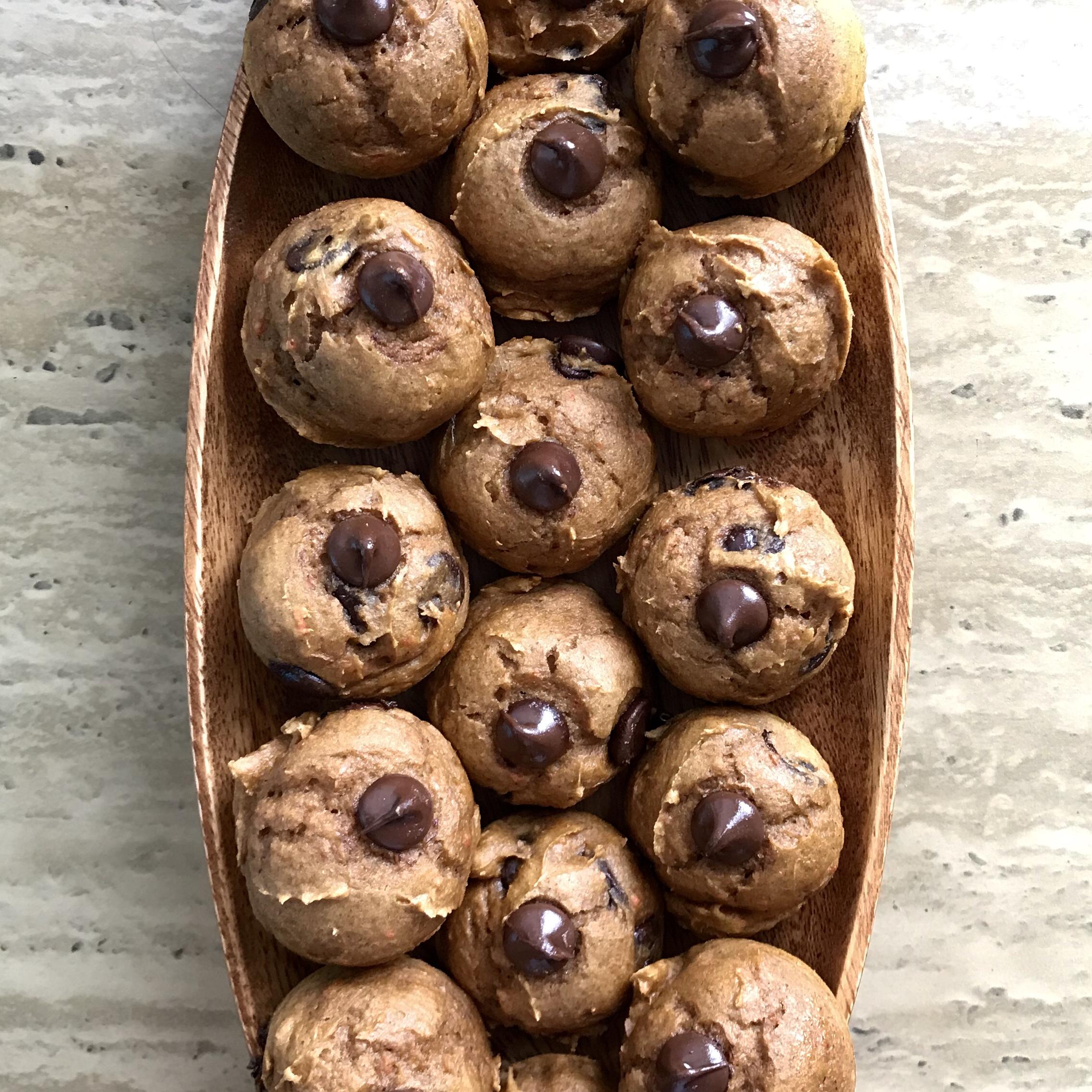 Mini Chocolate Chip Pumpkin Muffins Candace Crick