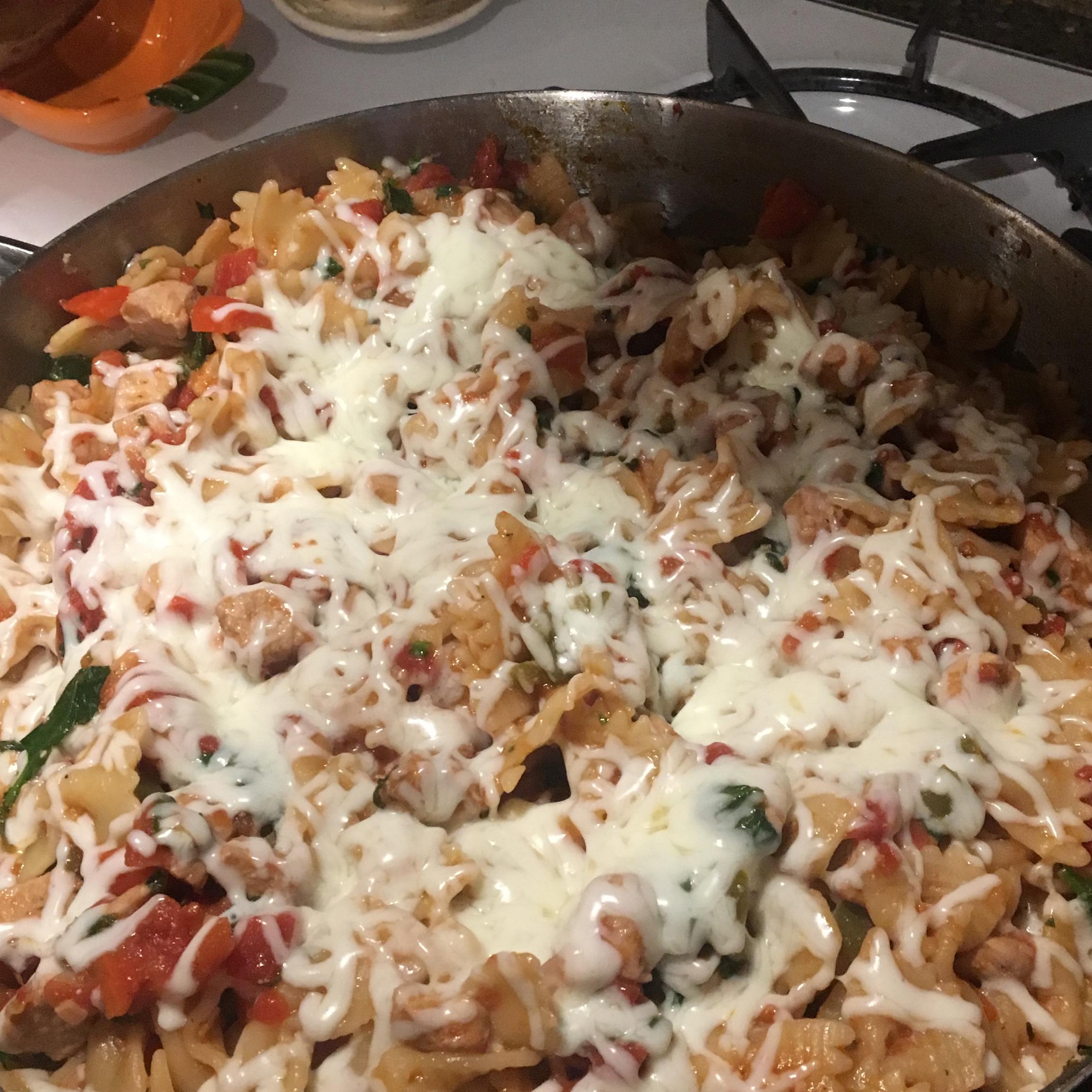 Italian Chicken Skillet ashley