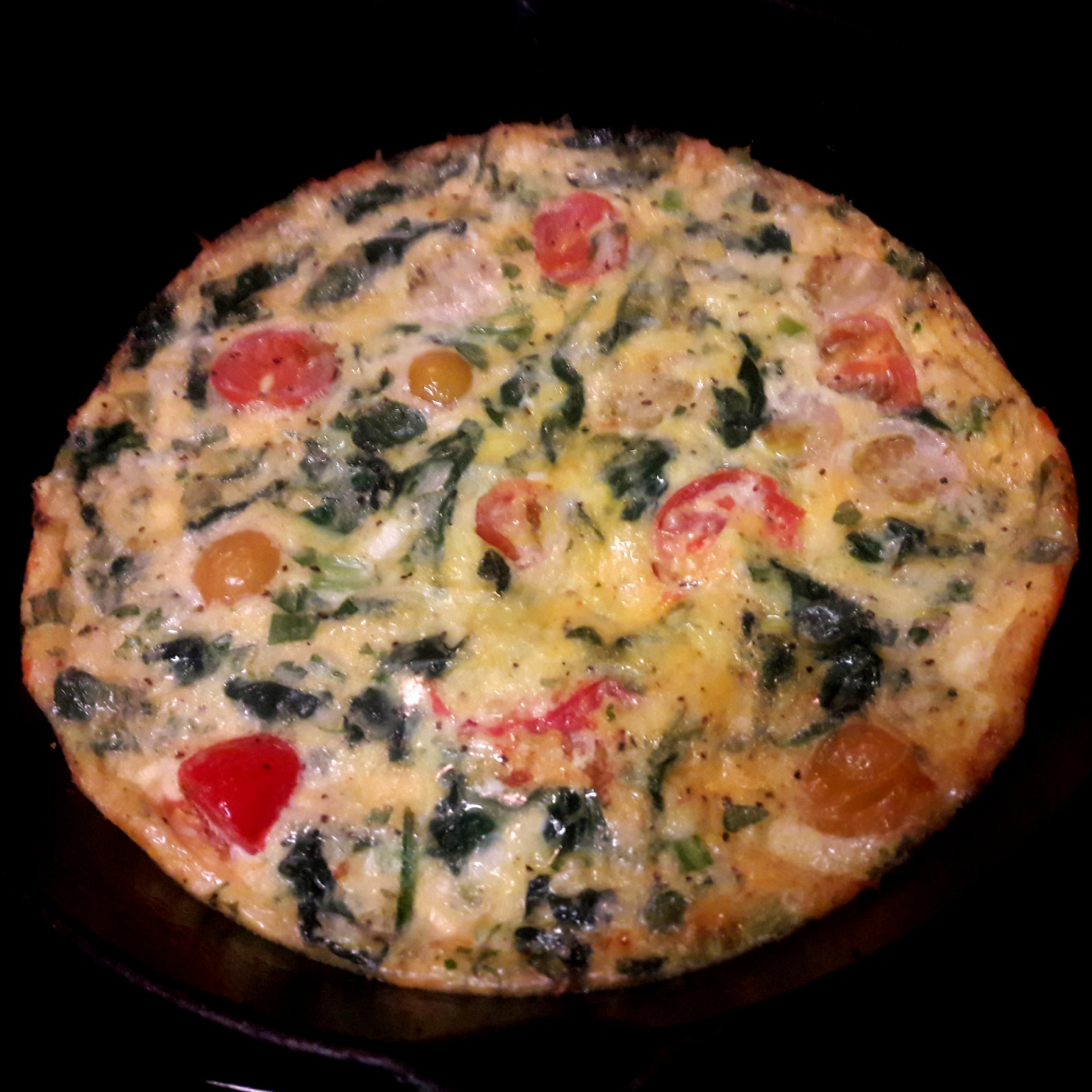 Hot or Cold Vegetable Frittata Victoria Harvis