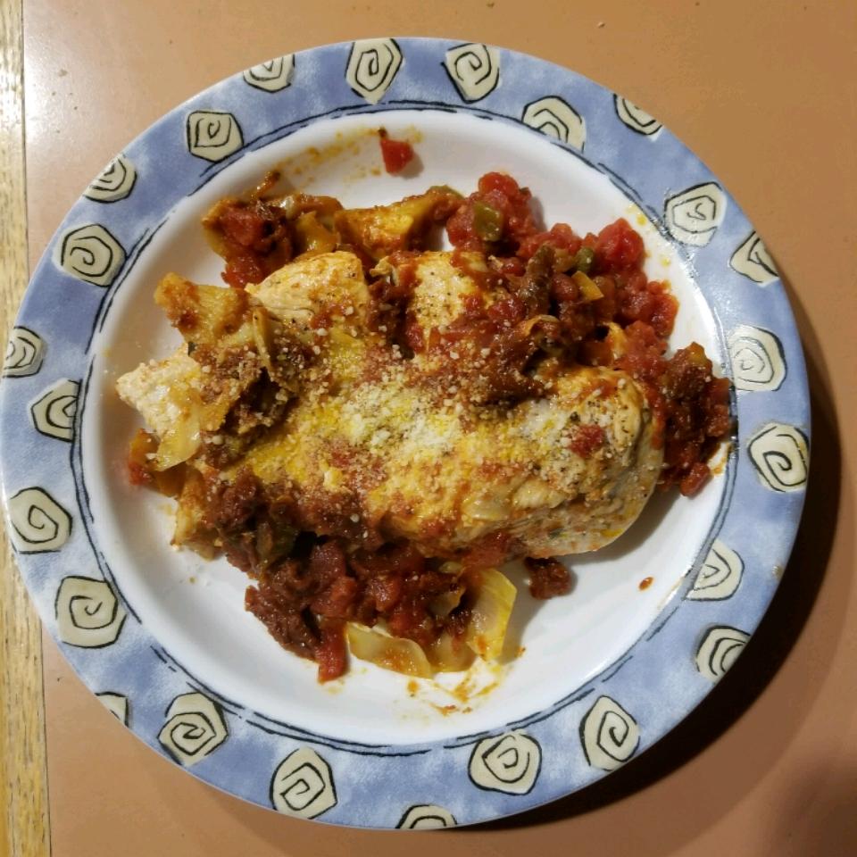 Artichoke and Sun-Dried Tomato Chicken