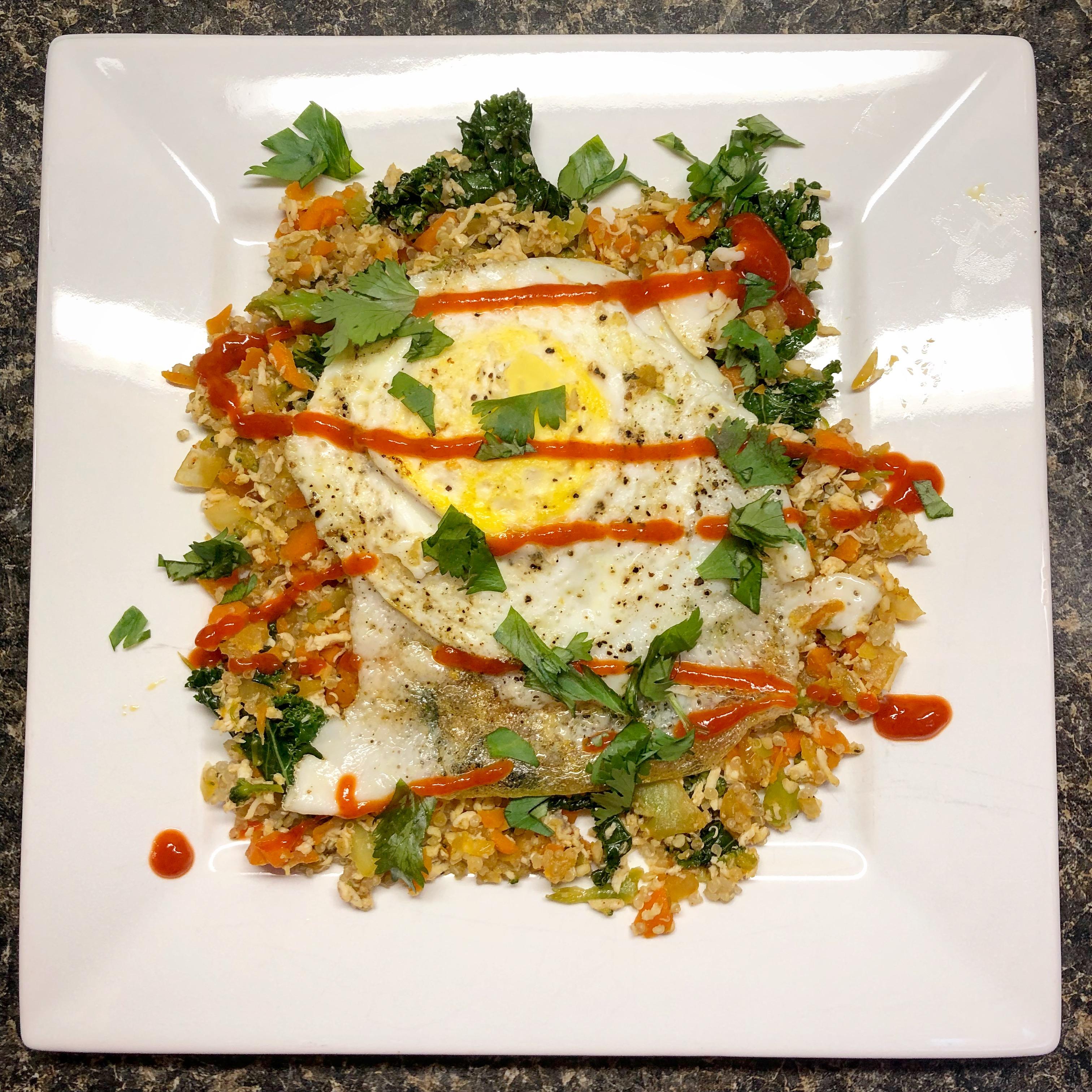 Asian Breakfast Stir-Fry