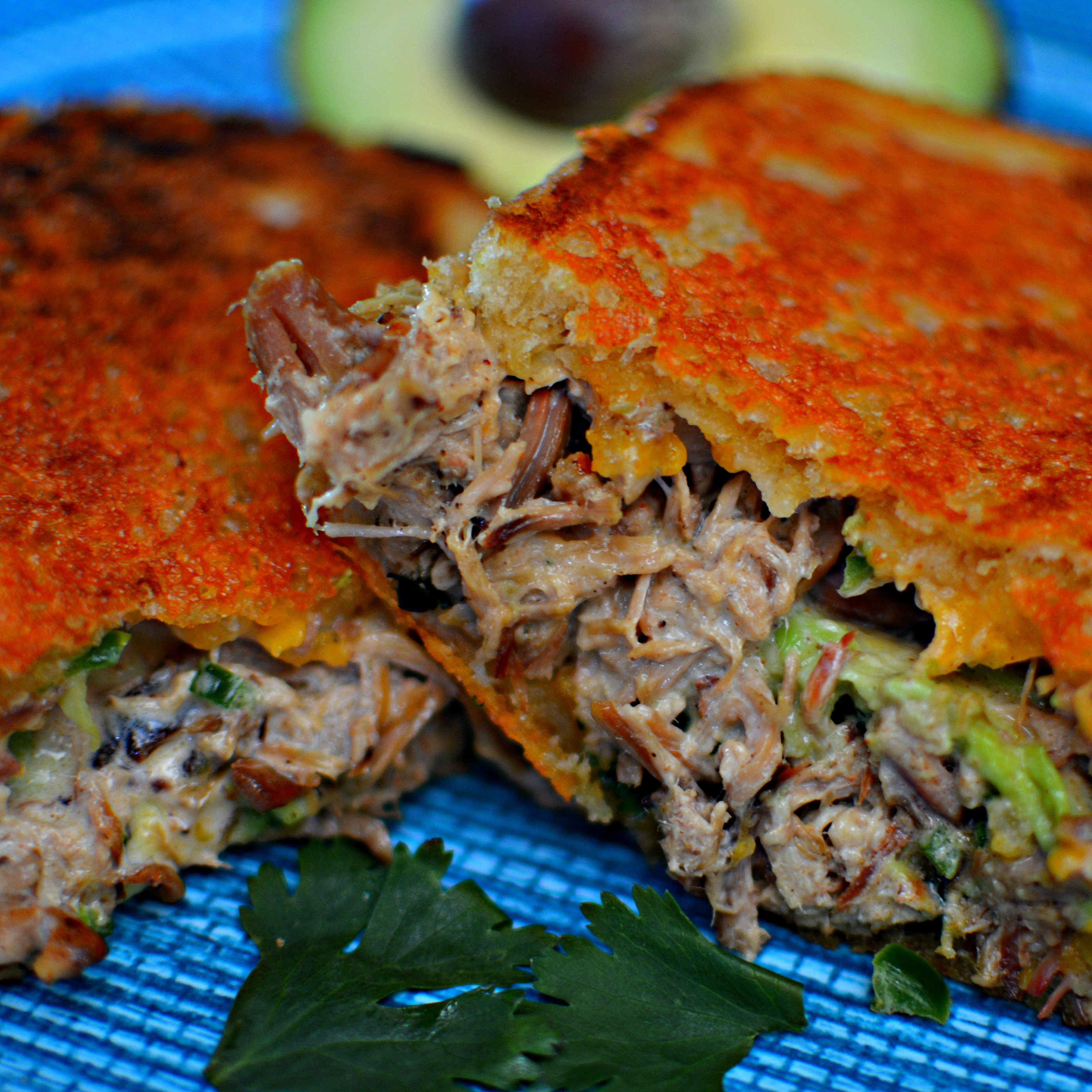 Tex Mex Ultimate Carnitas Grilled Cheese bd.weld