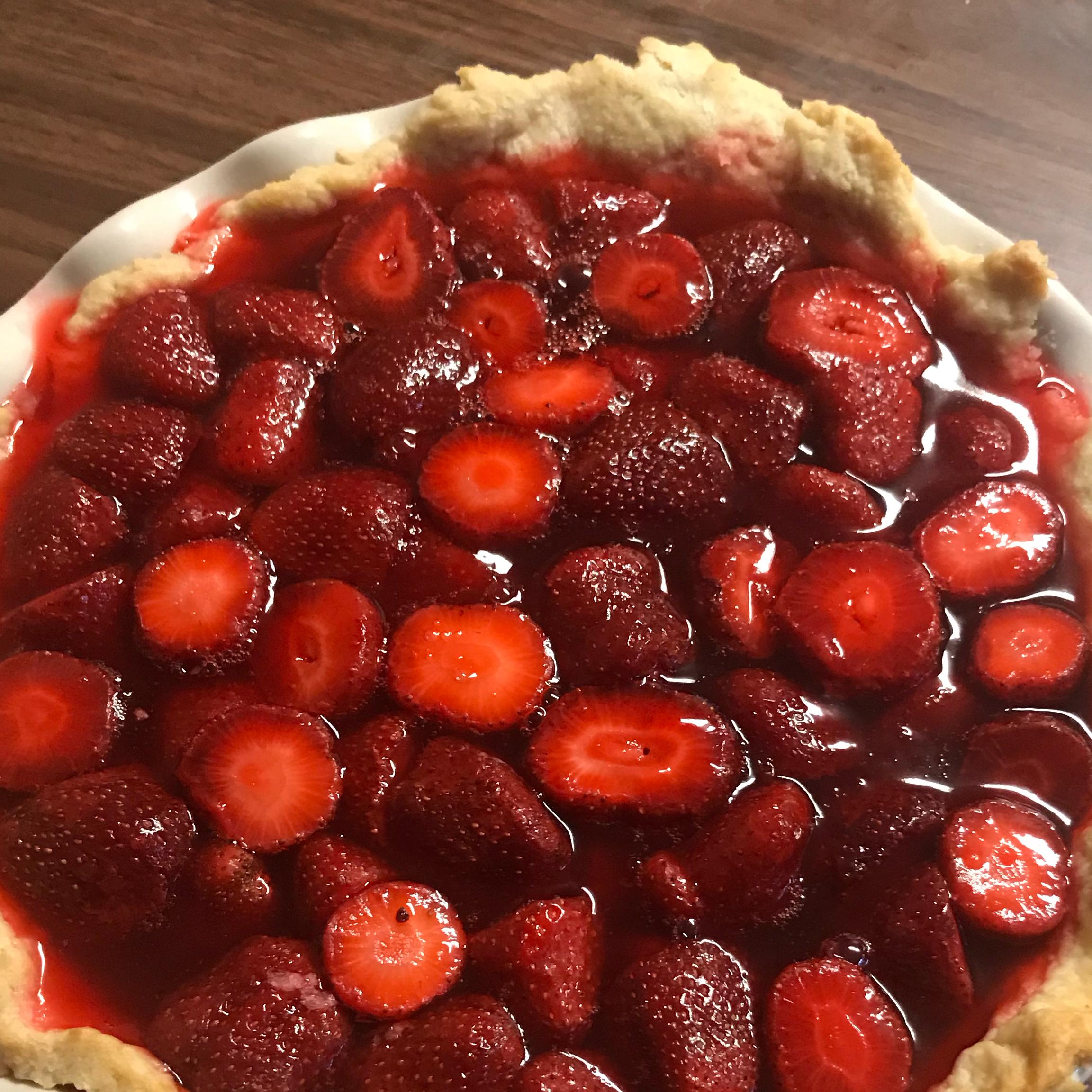 Fresh Strawberry Pie I Janice Papola