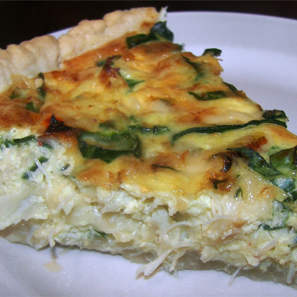 Crab and Swiss Quiche