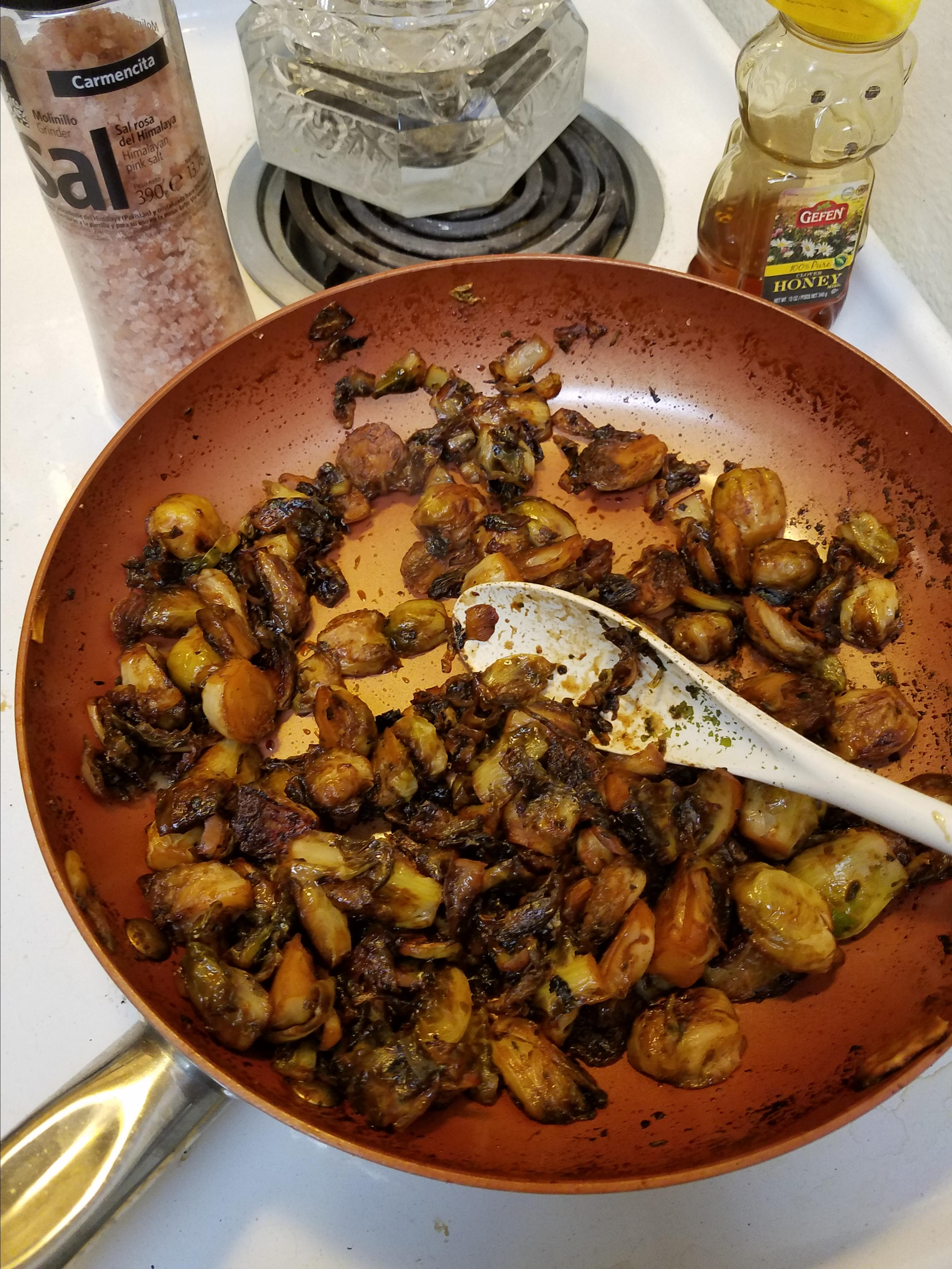 Sriracha Honey Brussels Sprouts