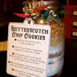 Special Butterscotch Chip Cookies in a Jar Jenny Mahler