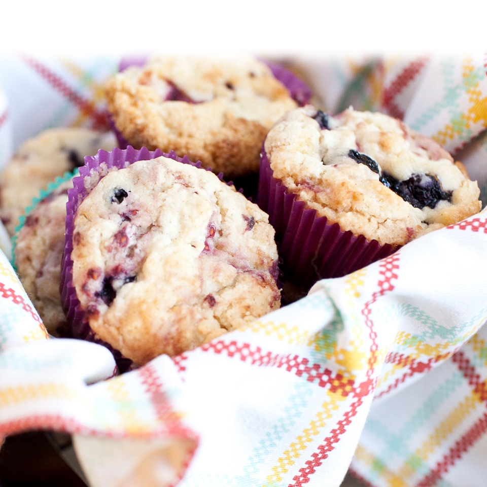 Berry Lemon Muffins