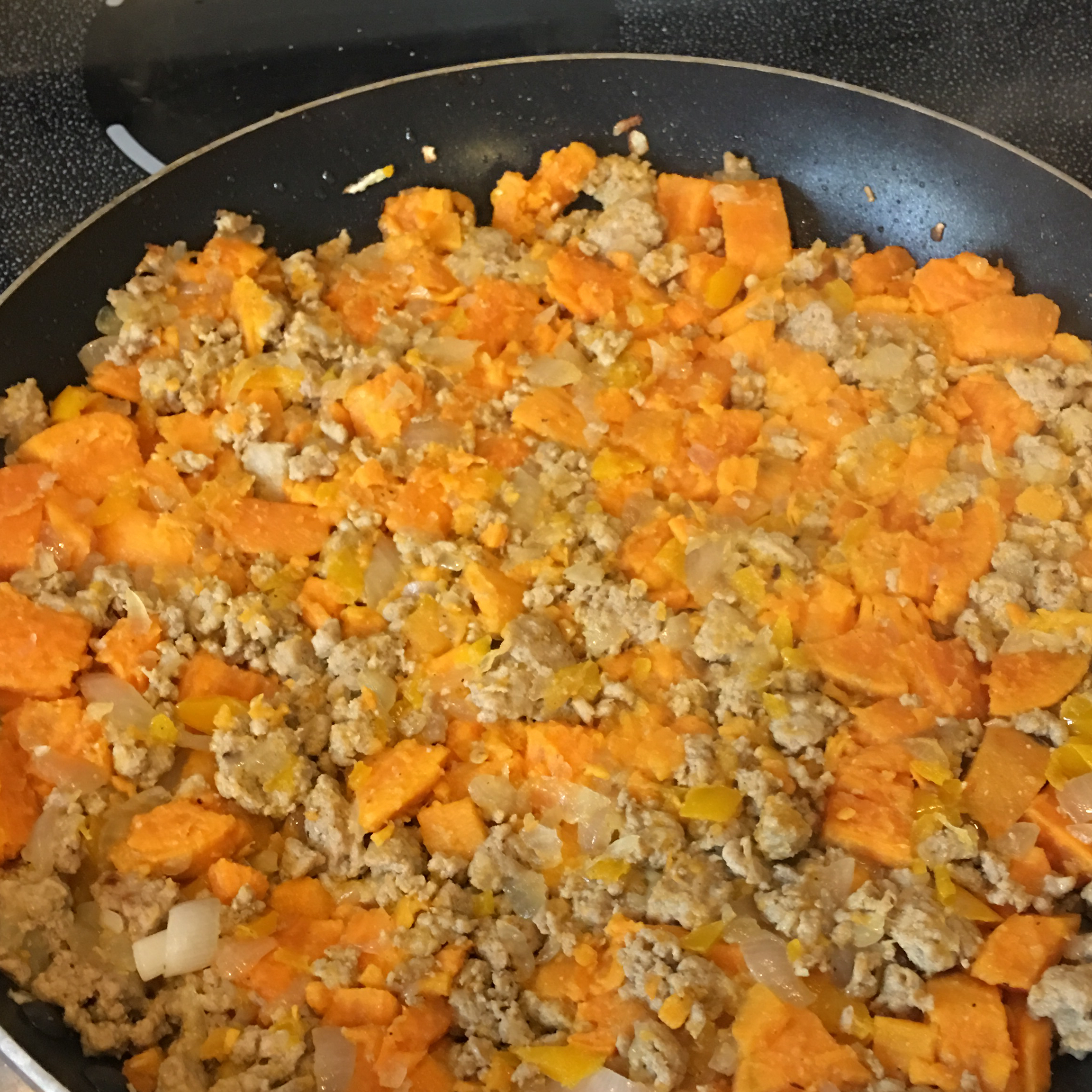 Sweet Potato Turkey Hash Audrey Hicks