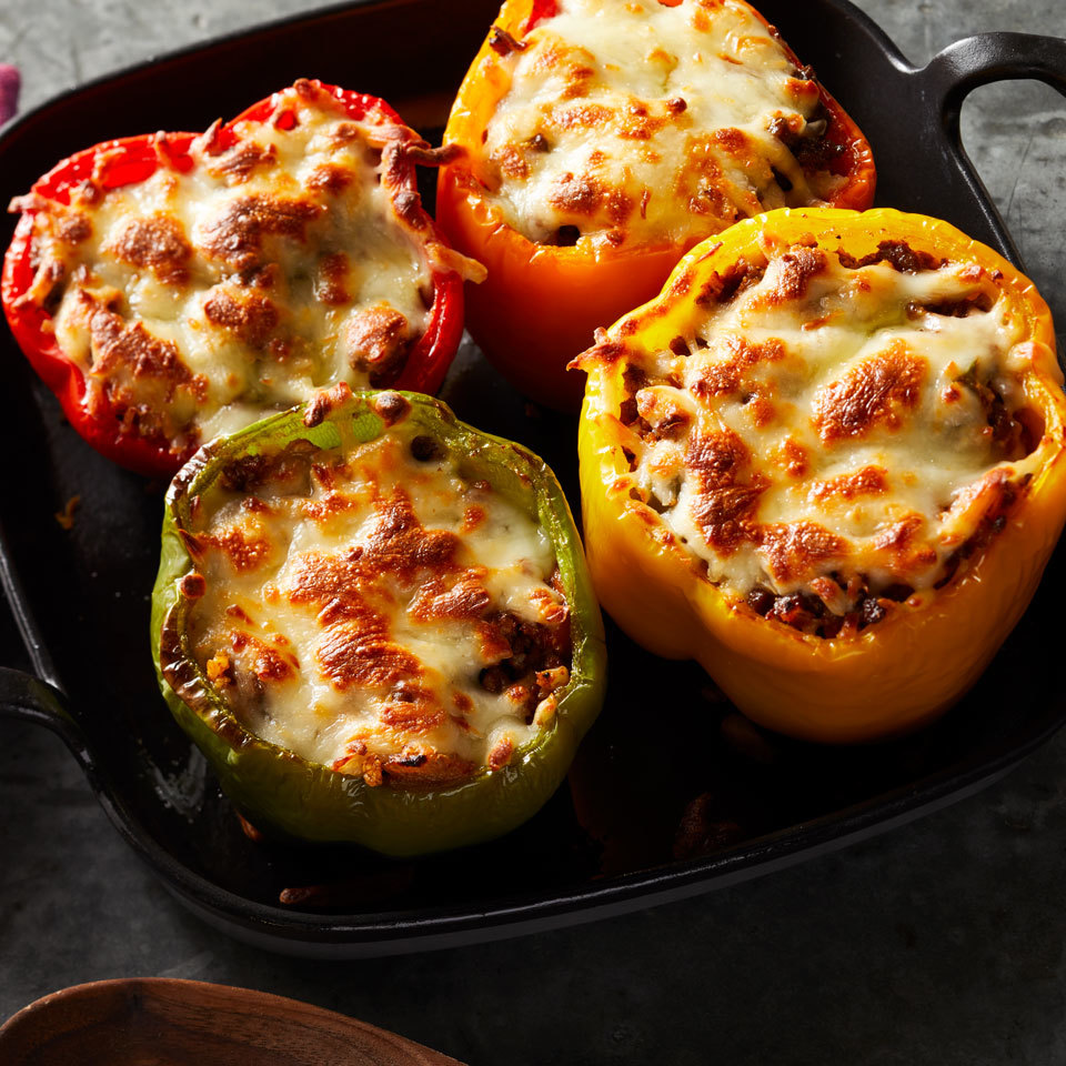 Cauliflower Rice-Stuffed Peppers Carolyn Casner