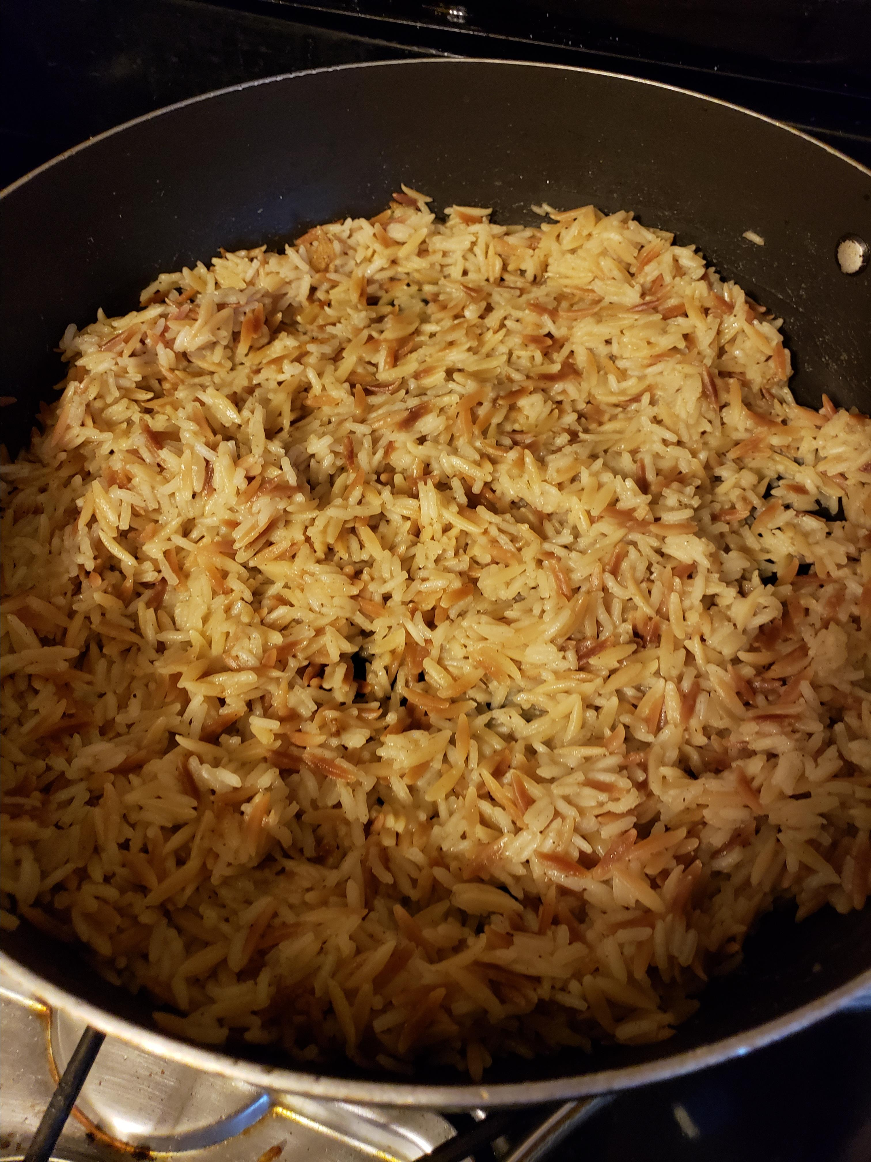 Orzo and Rice Rozie