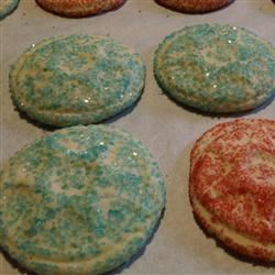 Sugar Cookie Drops GOURMETMOMMY