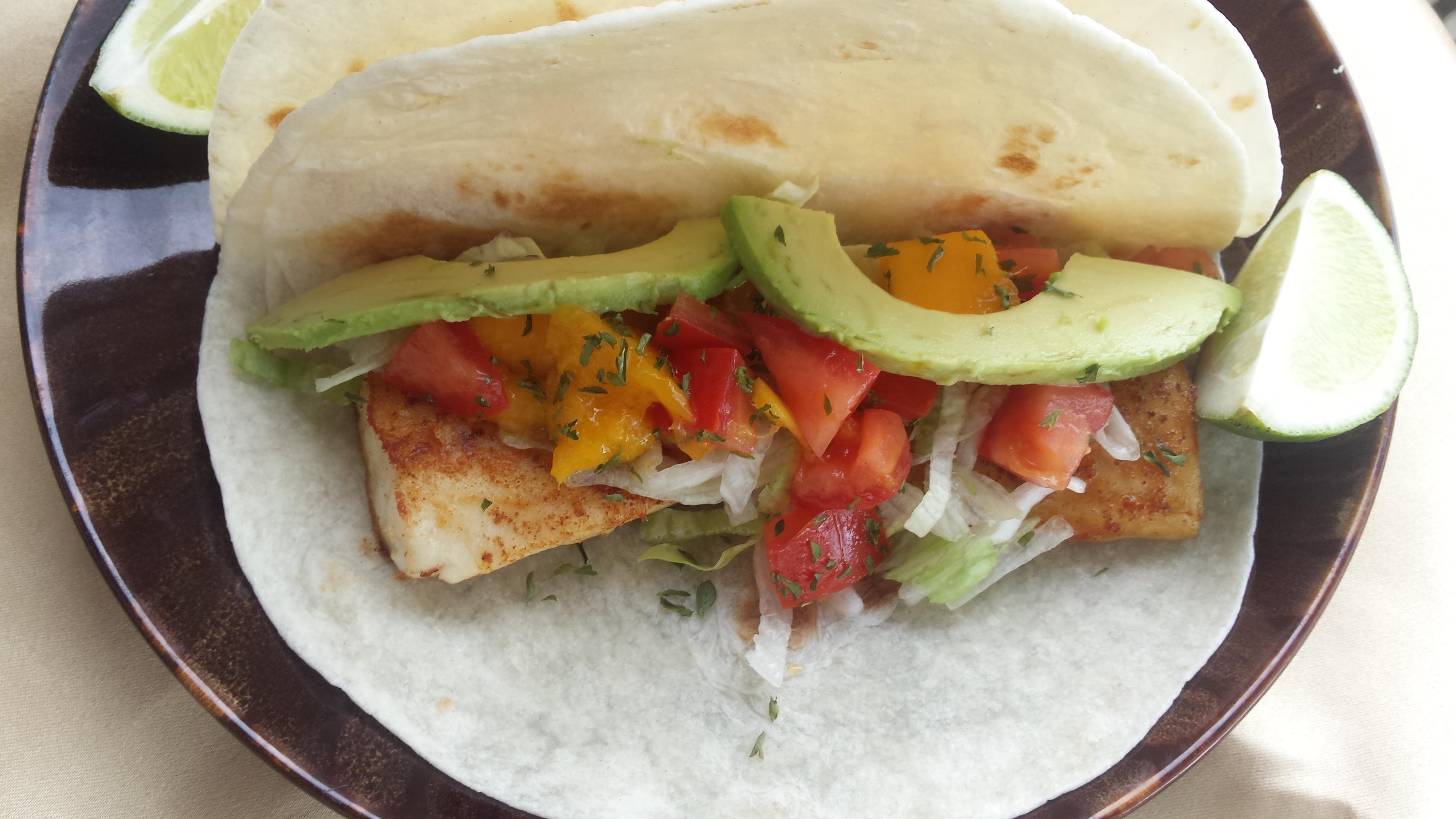 Fish Tacos from Reynolds Wrap® Liz Dalton 'Lizzie'
