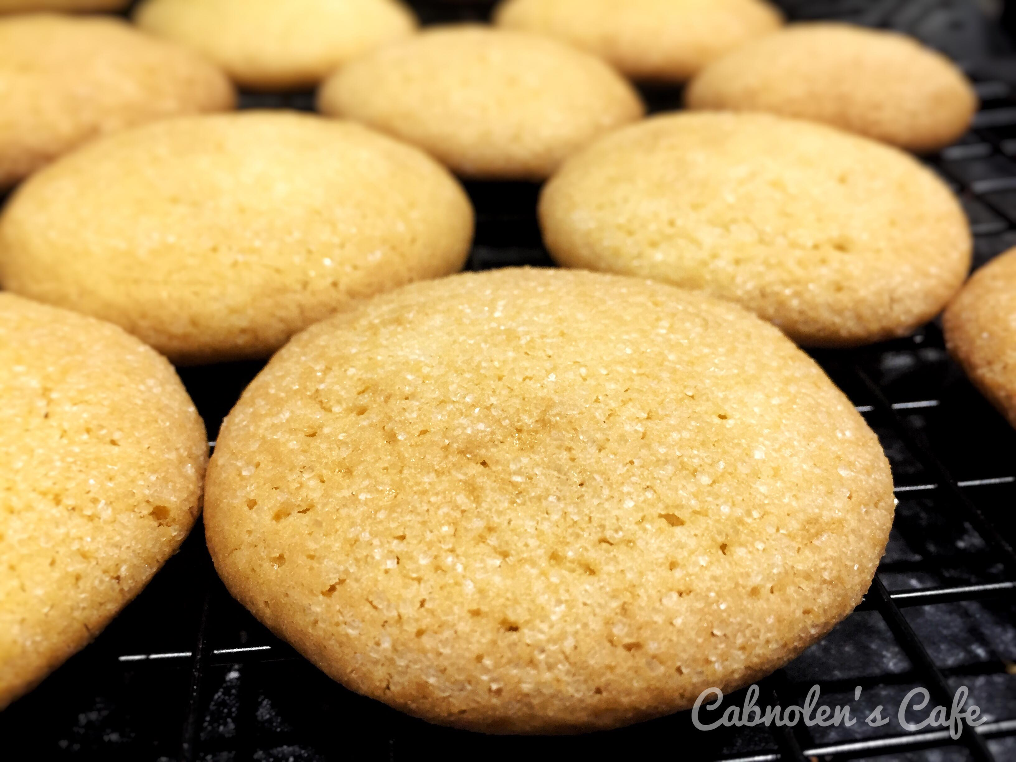 Citrus Egg Yolk Cookies Cabnolen