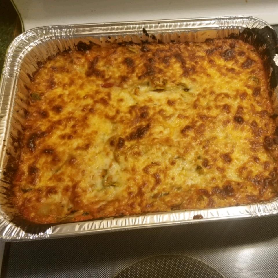 Zucchini Noodle Casserole Reggie