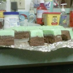 Mint Chocolate Fudge Jenna Briner