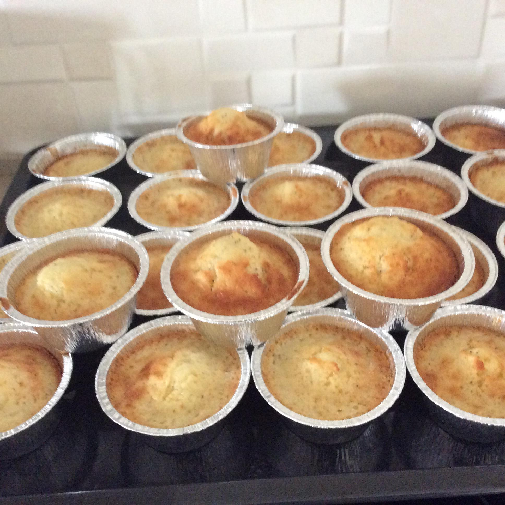 One Bowl Lemon Cupcakes