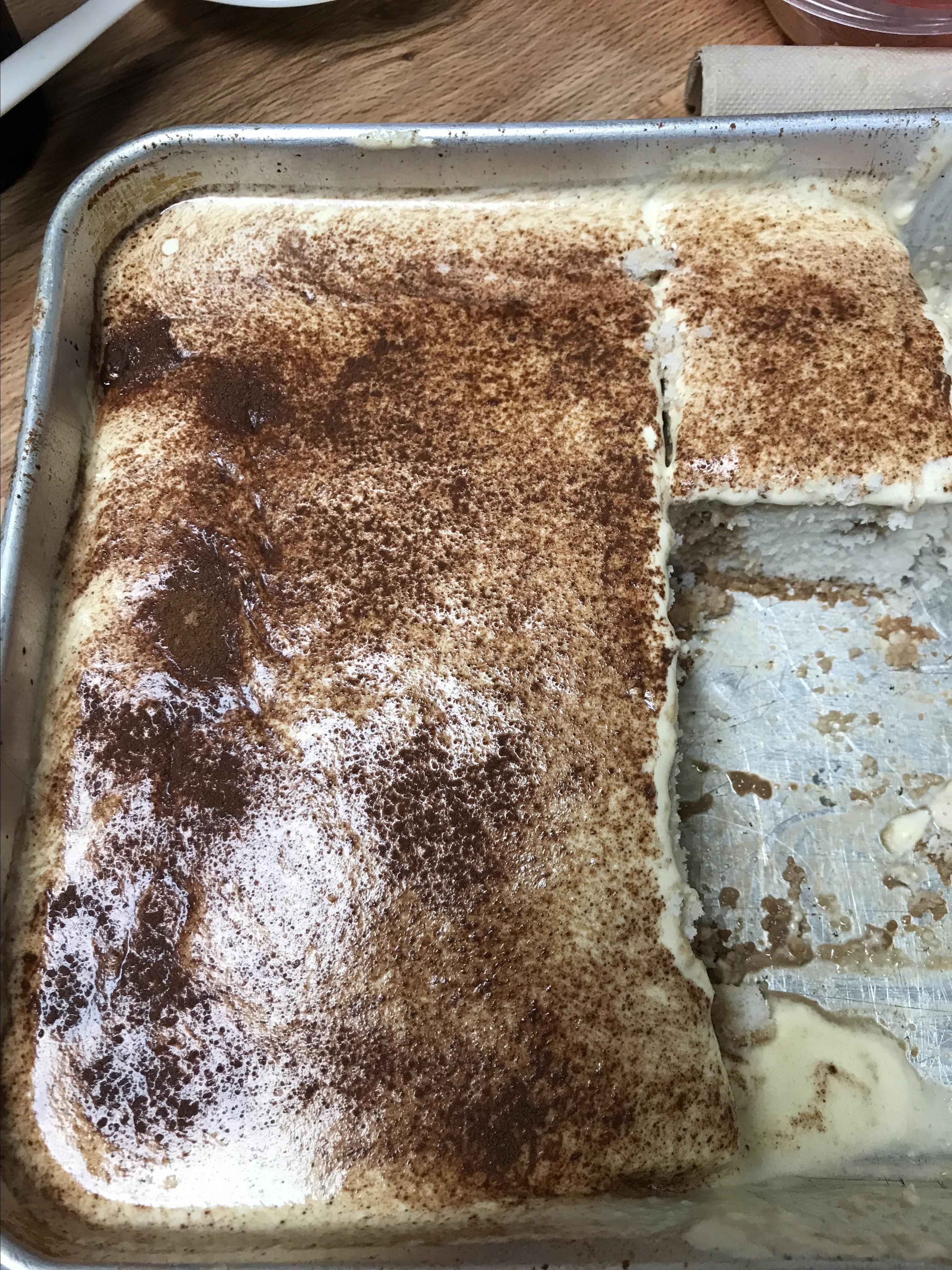 Tiramisu Poke Cake Cynthia Jones