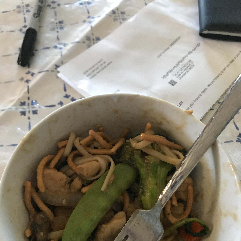 Thai Peanut Stir Fry Sauce