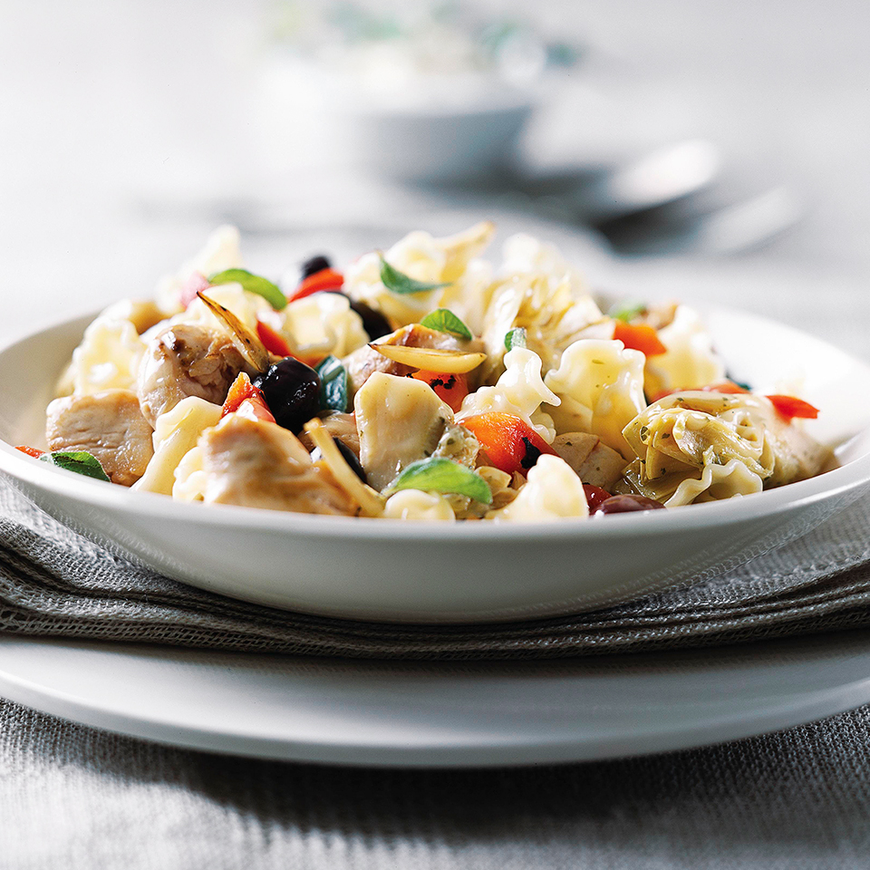Mediterranean Chicken and Pasta Trusted Brands