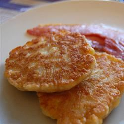 Corn Fritters with Maple Syrup ClubZombie