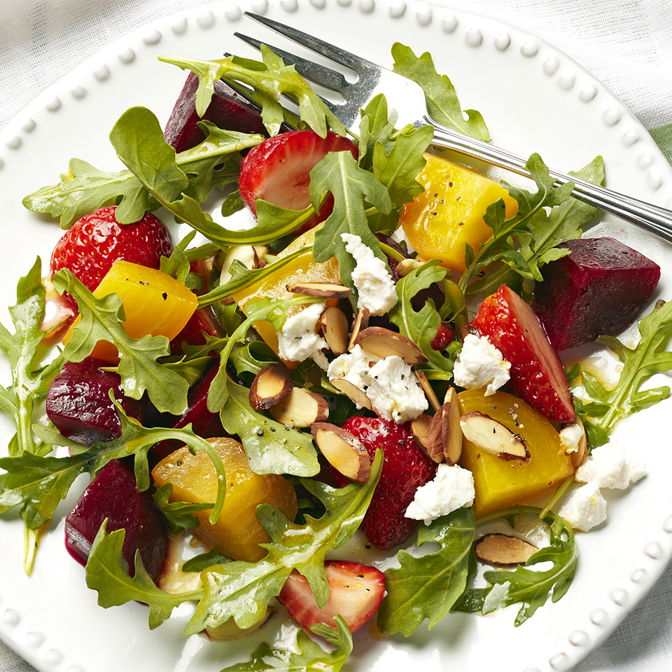 Strawberry-Beet Salad Diabetic Living Magazine