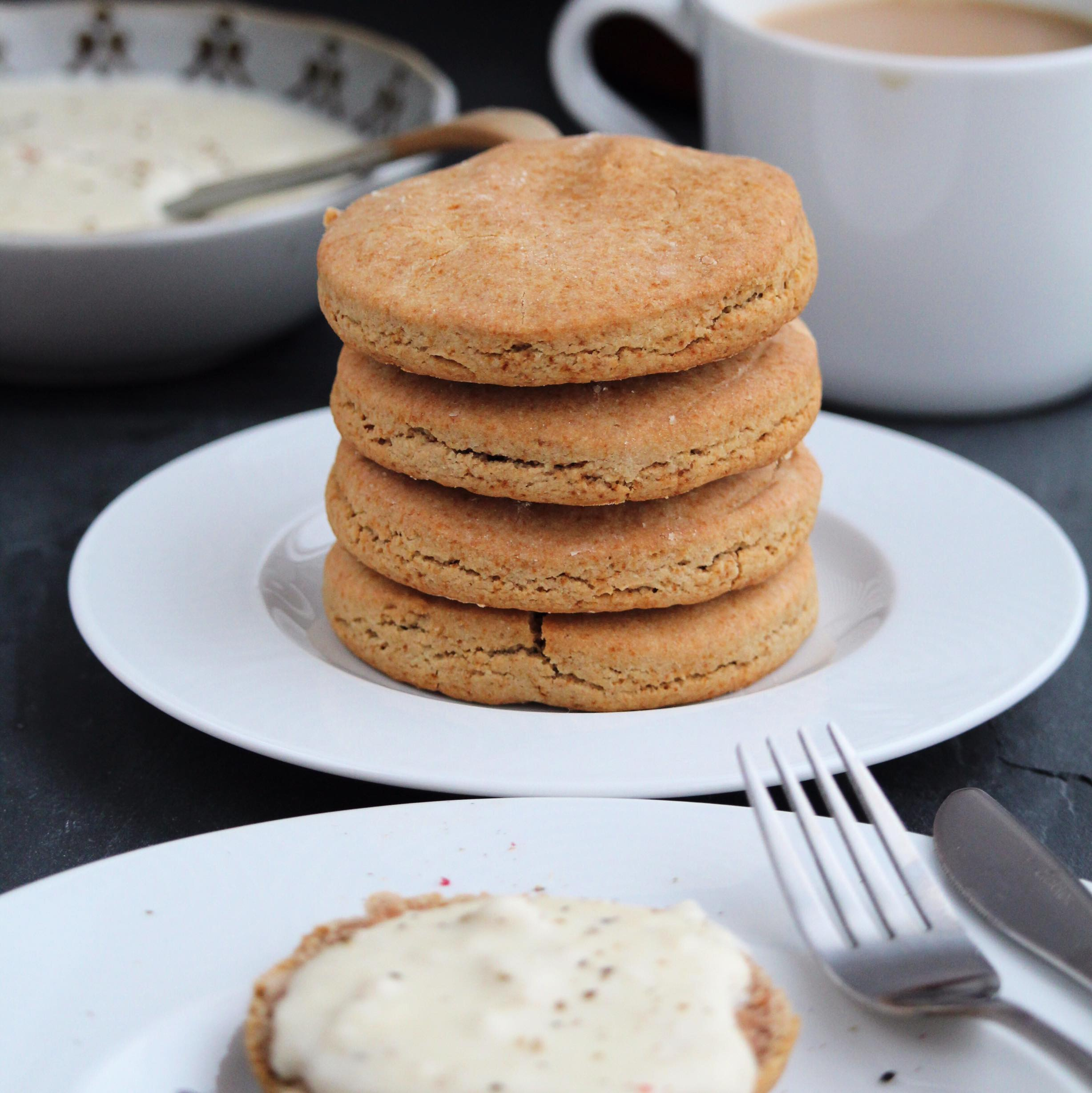 Buckwheat Sour Cream Biscuits