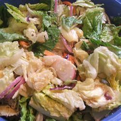 Restaurant-Style House Salad Linda Farrell