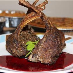 Moroccan Lamb with Shiraz Honey Sauce Tabs