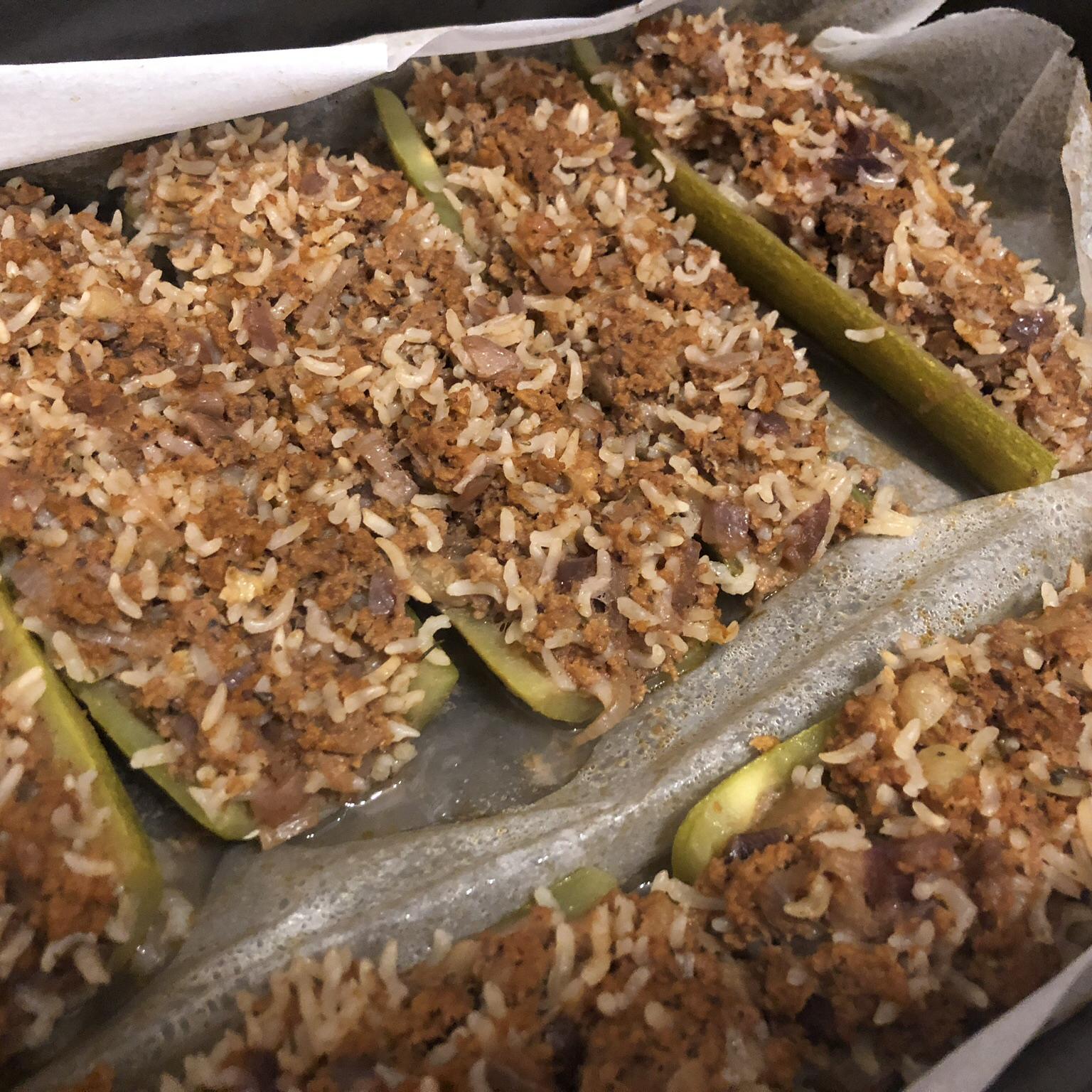 Greek Stuffed Zucchini Jojo Marie Alton MacNab