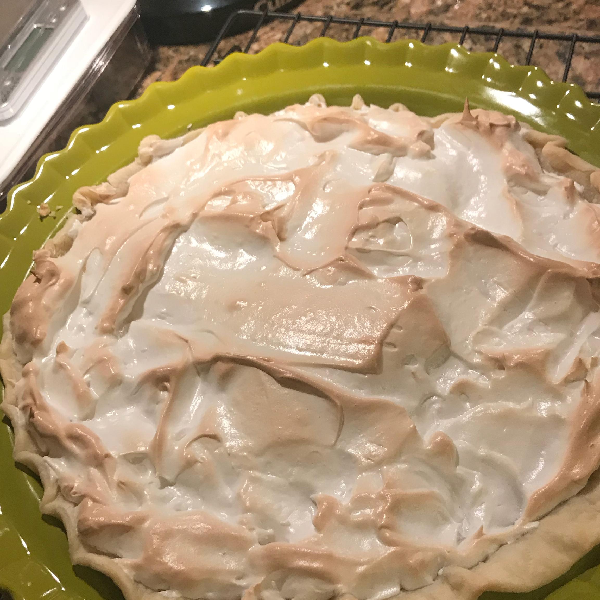 Orange Meringue Pie without Condensed Milk