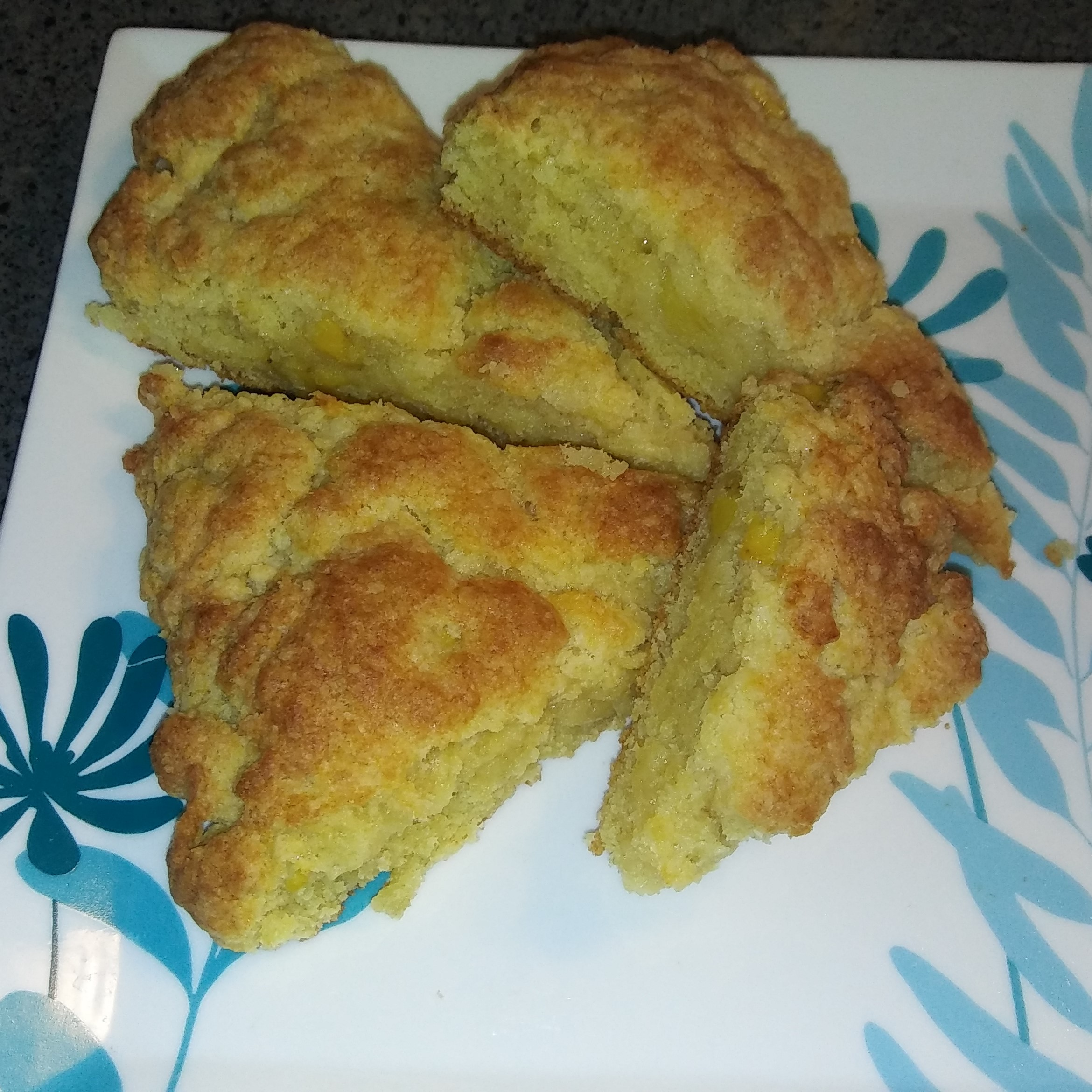 Tropical Banana Scones