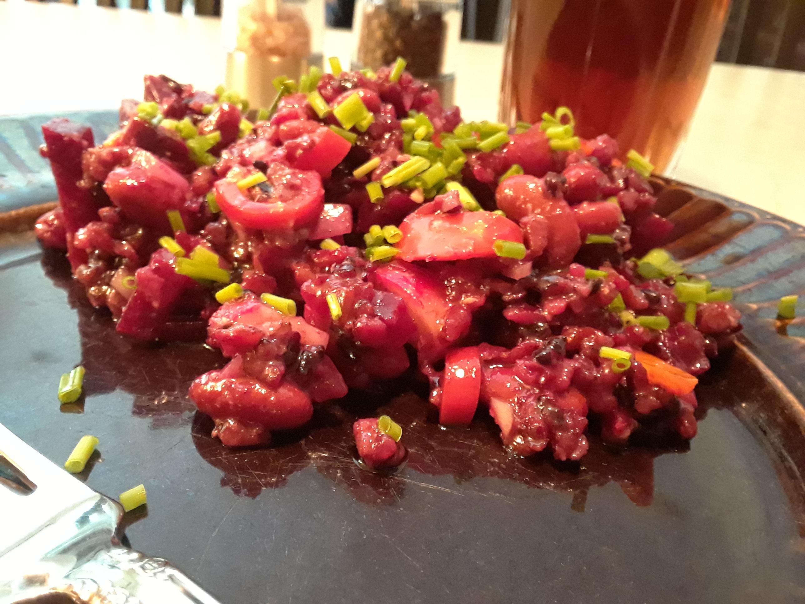 Red Rice Salad Chickadee