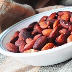 Anytime Almonds larkspur