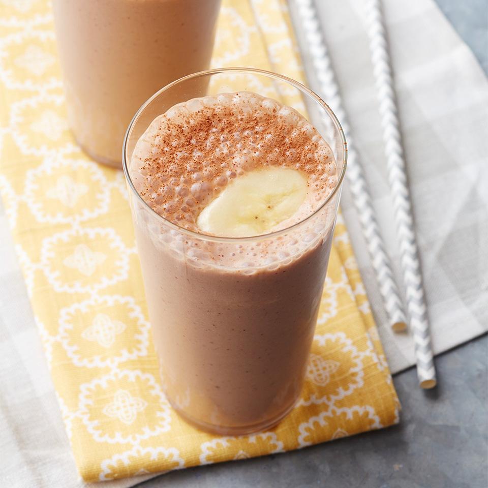 Almond-Chocolate Banana Smoothies Diabetic Living Magazine