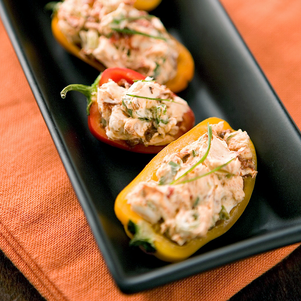 Creamy Stuffed Peppers Diabetic Living Magazine